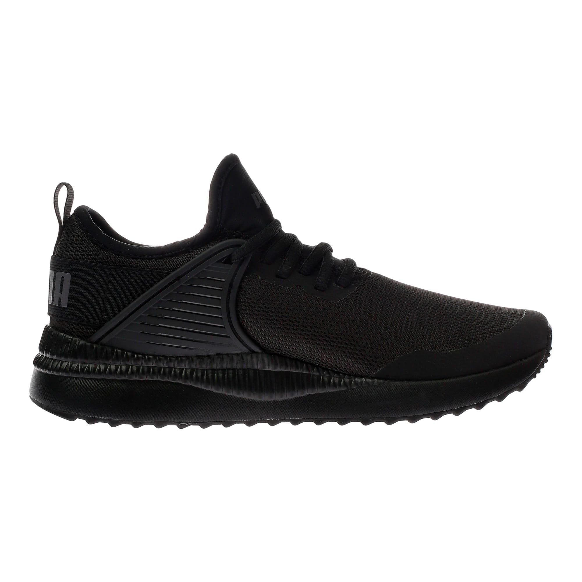 Thumbnail 4 of Pacer Next Cage Sneakers JR, Puma Black-Puma Black, medium