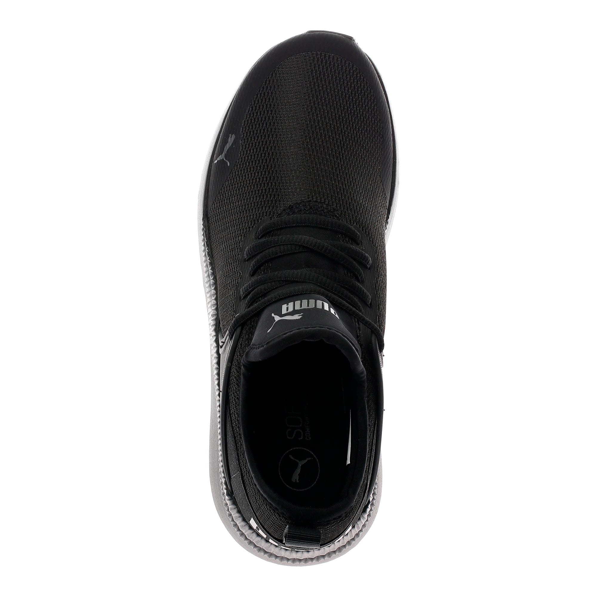 Thumbnail 5 of Pacer Next Cage Sneakers JR, Puma Black-Puma Black, medium