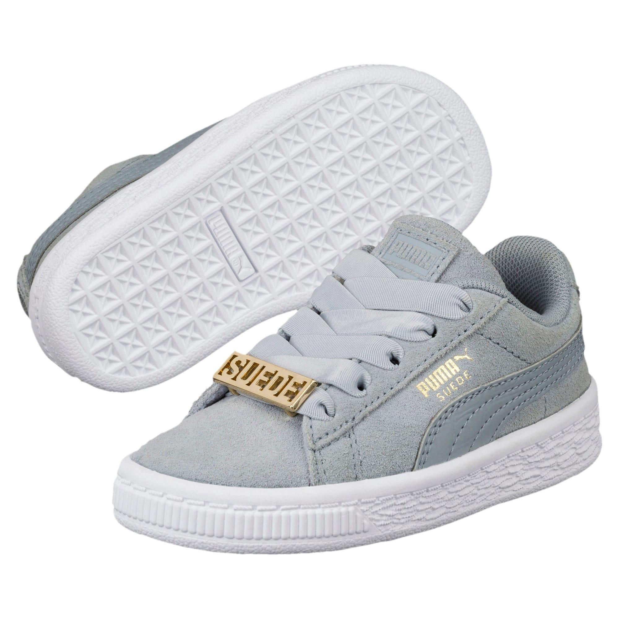 Miniatura 2 de Zapatos Suede Classic B-BOY Fabulous para bebé, Quarry-Quarry, mediano