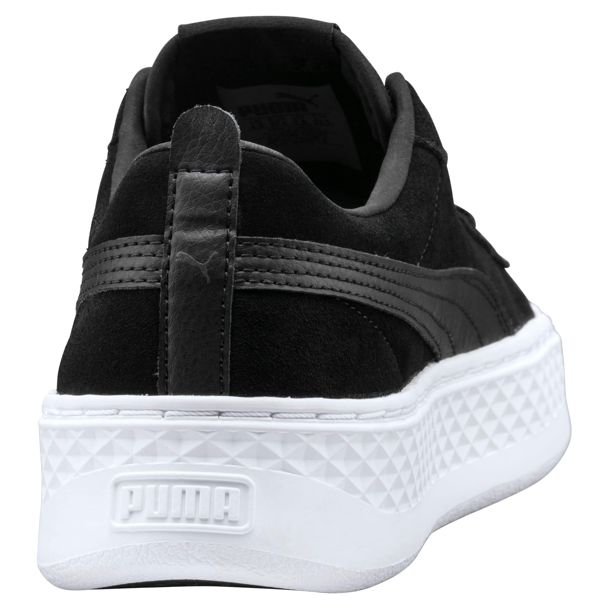 Thumbnail 3 of Puma Smash Platform SD, Puma Black-Puma Black, medium