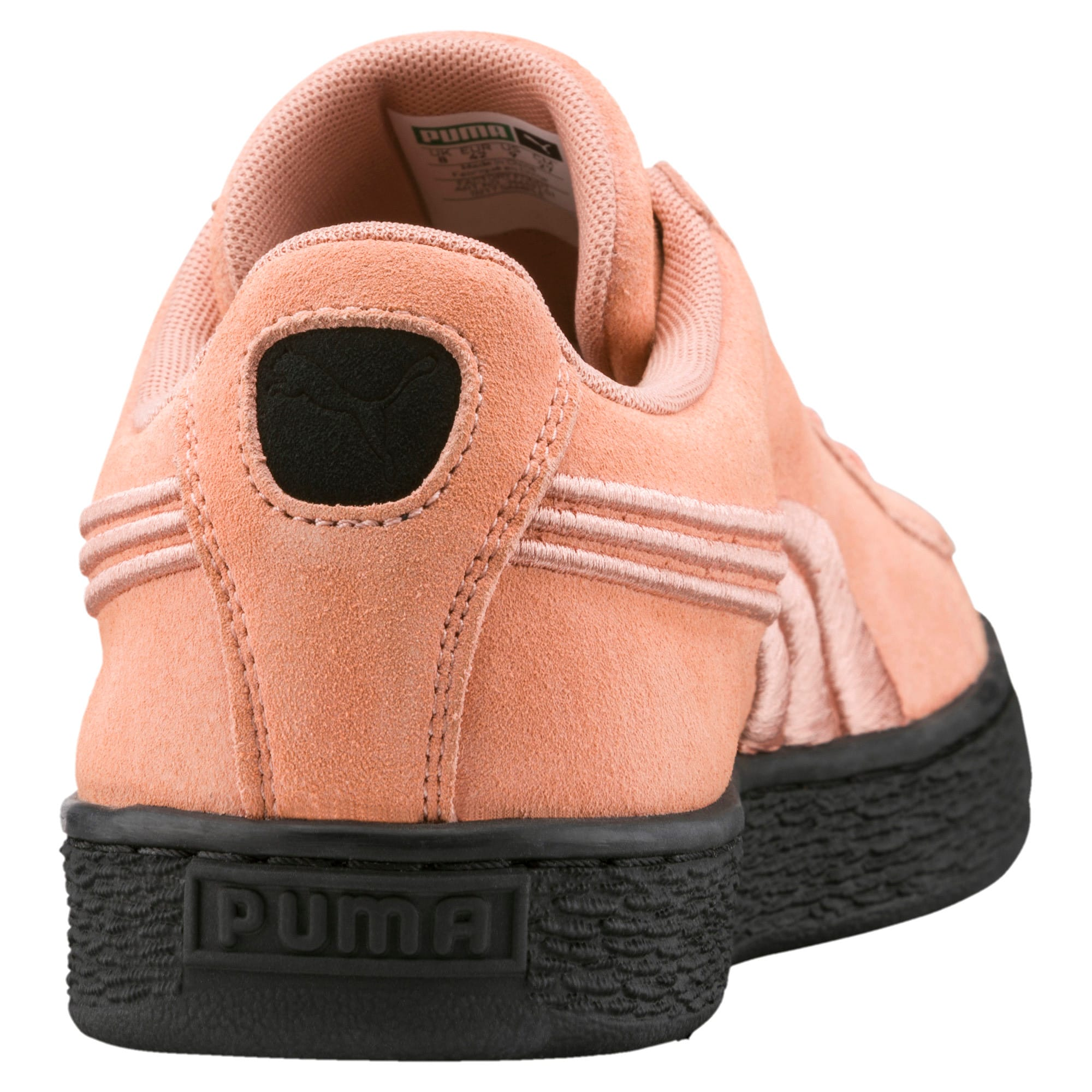 Thumbnail 4 of Suede Classic Badge Flip Sneakers, Muted Clay-Puma Black, medium