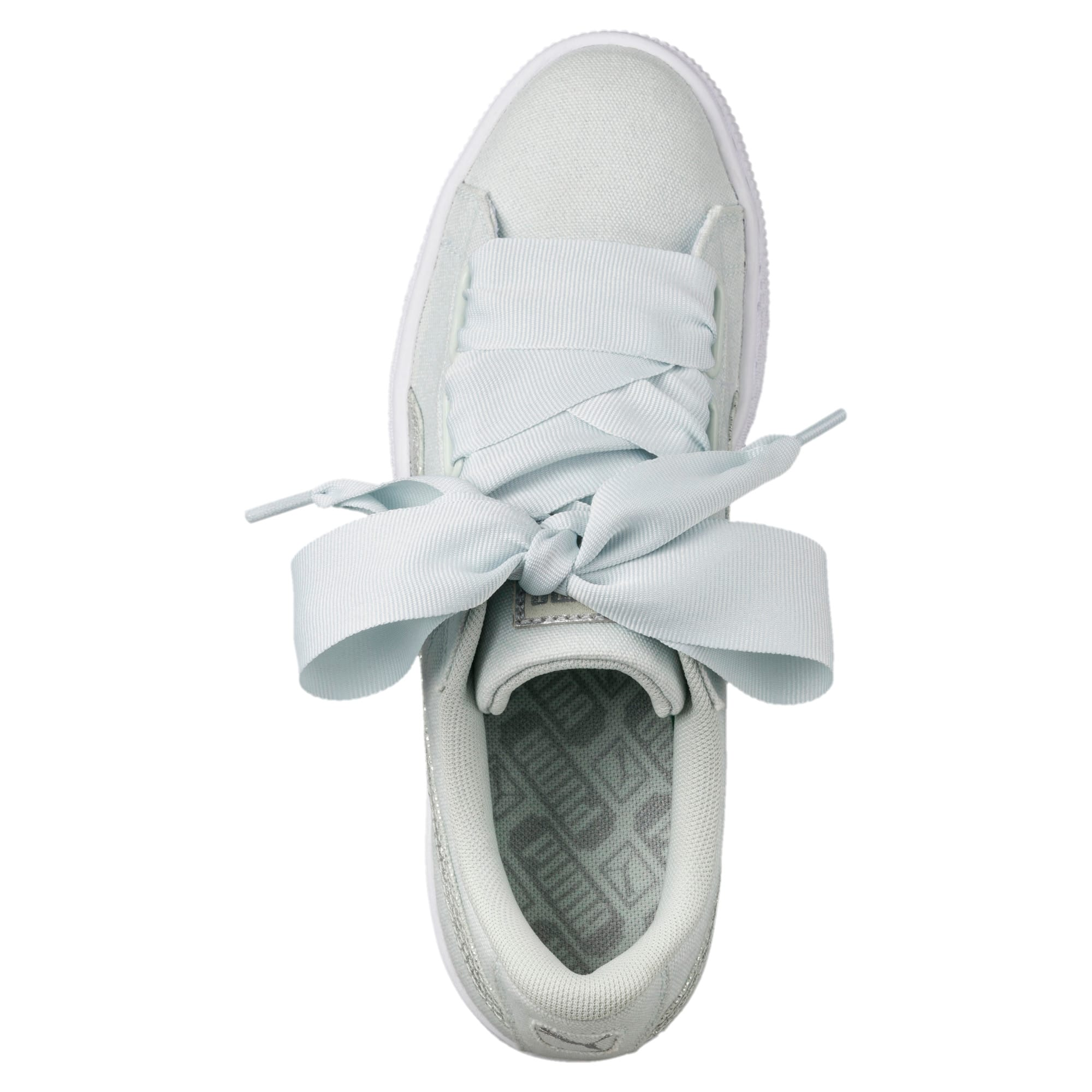 finest selection fe604 bdecb Basket Heart Canvas Women's Sneakers