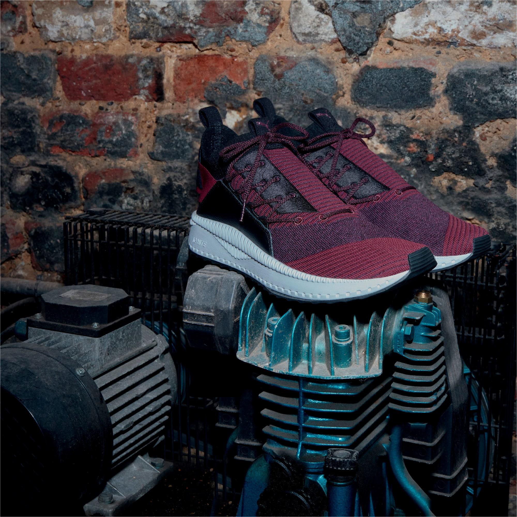 Thumbnail 6 of TSUGI Jun Baroque Sneakers, Fig-Shadow Purple-Puma Black, medium