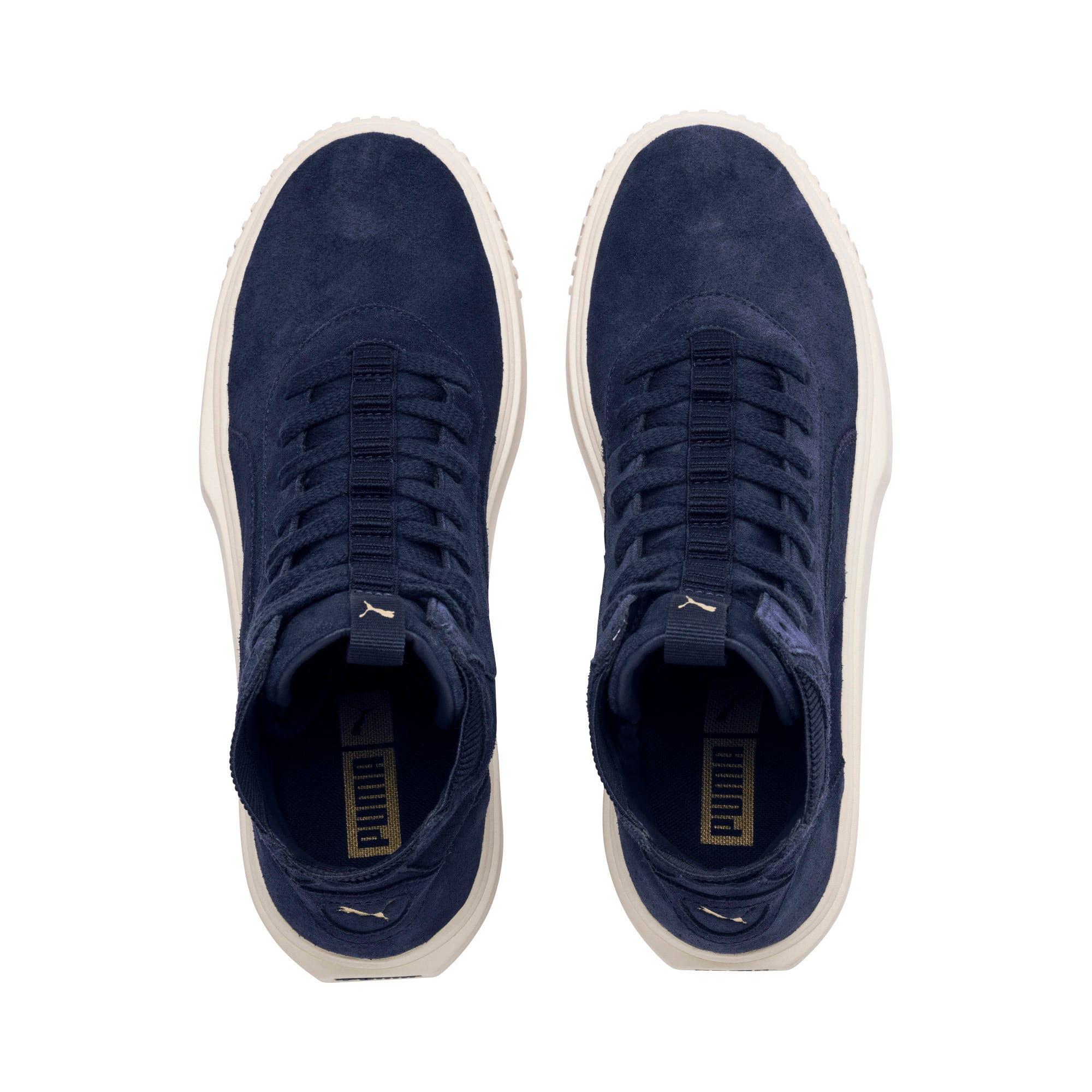 Thumbnail 6 of PUMA Breaker Hi Evolution Sneakers, Peacoat-Whisper White, medium