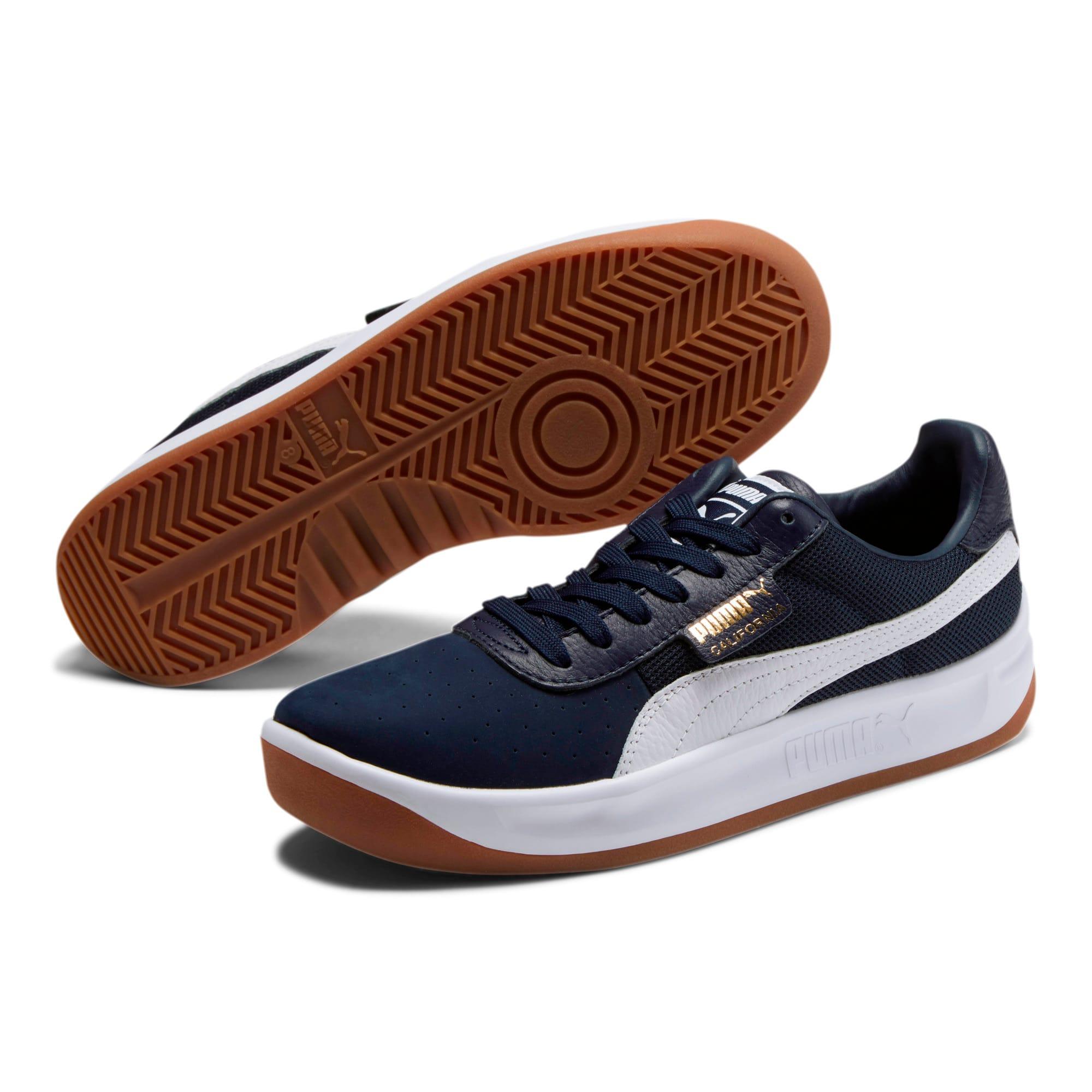 Thumbnail 2 of California Casual Sneakers, Peacoat-Puma White, medium
