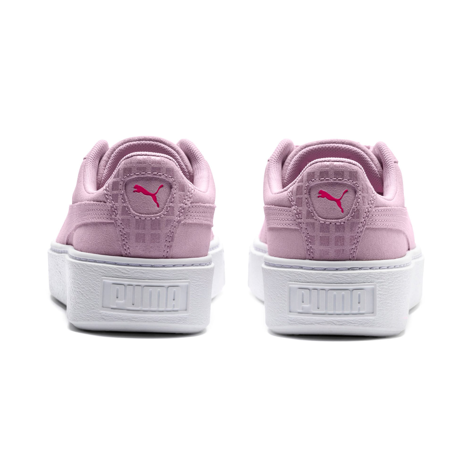 Thumbnail 4 of Suede Platform Street 2 Women's Sneakers, Winsome Orchid, medium