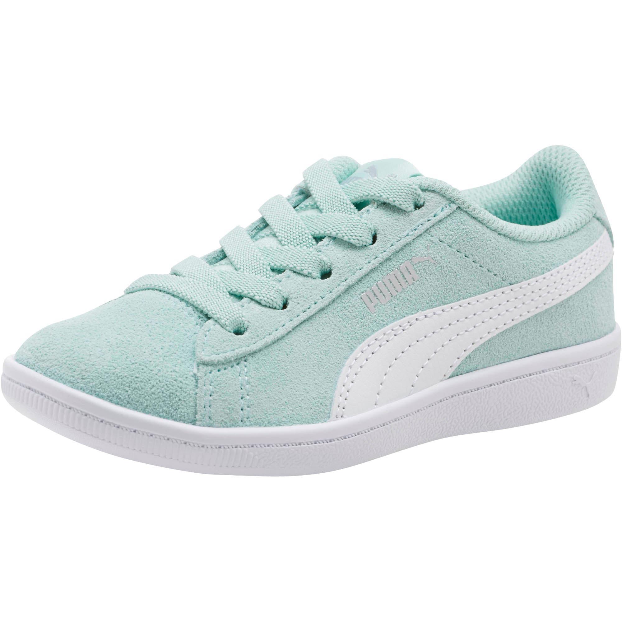 Thumbnail 1 of PUMA Vikky AC Little Kids' Shoes, Fair Aqua-Puma White, medium