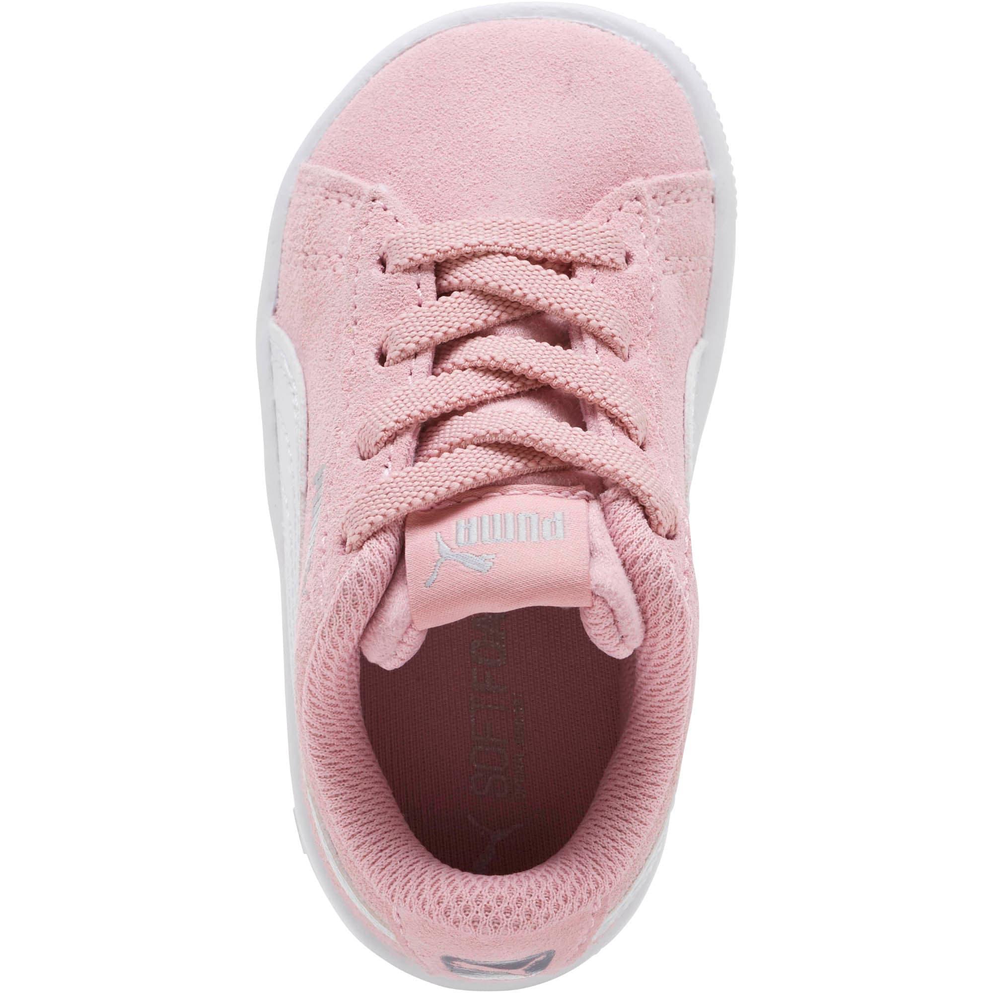 Thumbnail 5 of PUMA Vikky AC Toddler Shoes, Pale Pink-Puma White, medium