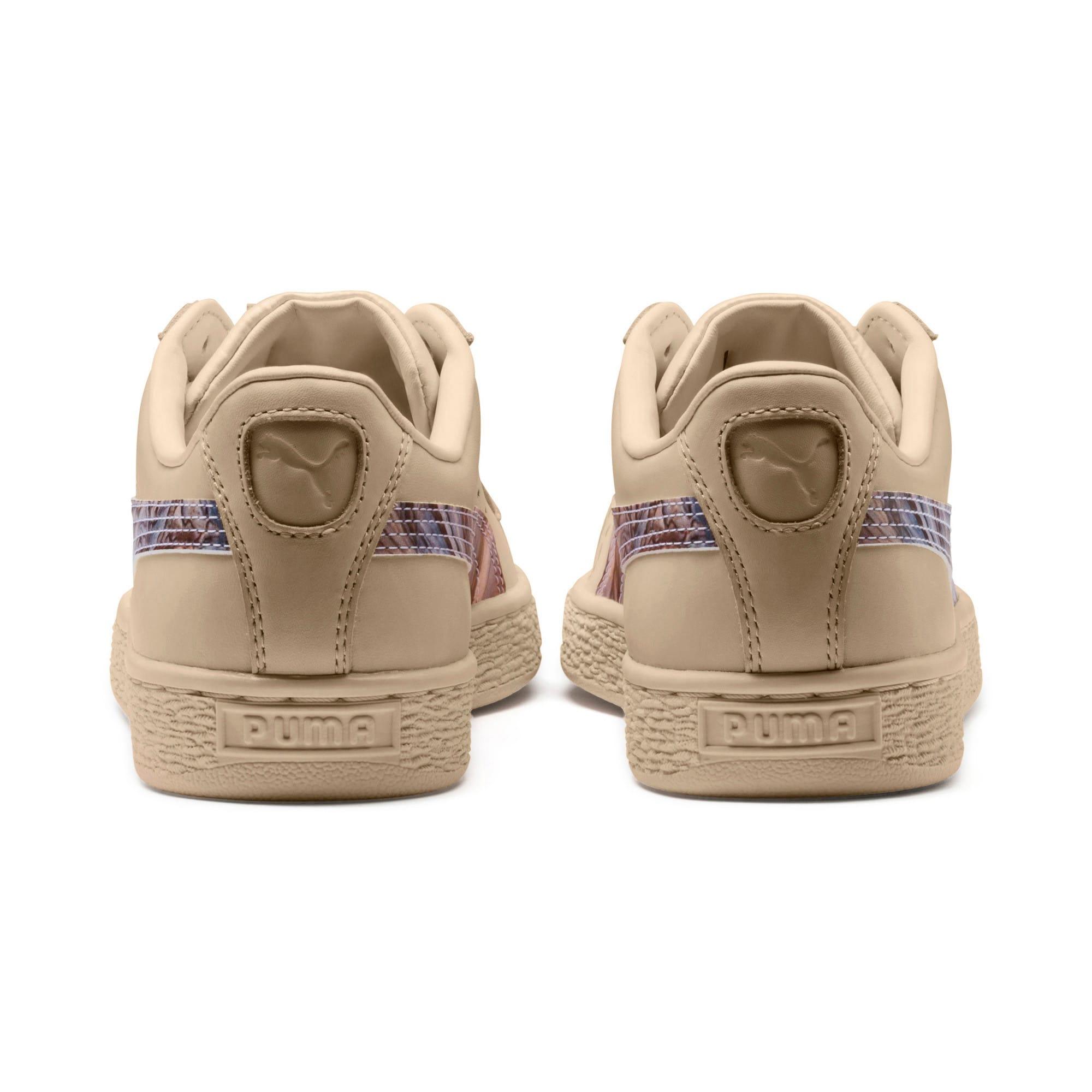 Thumbnail 4 of Basket Classic Mimicry Women's Sneakers, Vanilla Cream-Vanilla Cream, medium