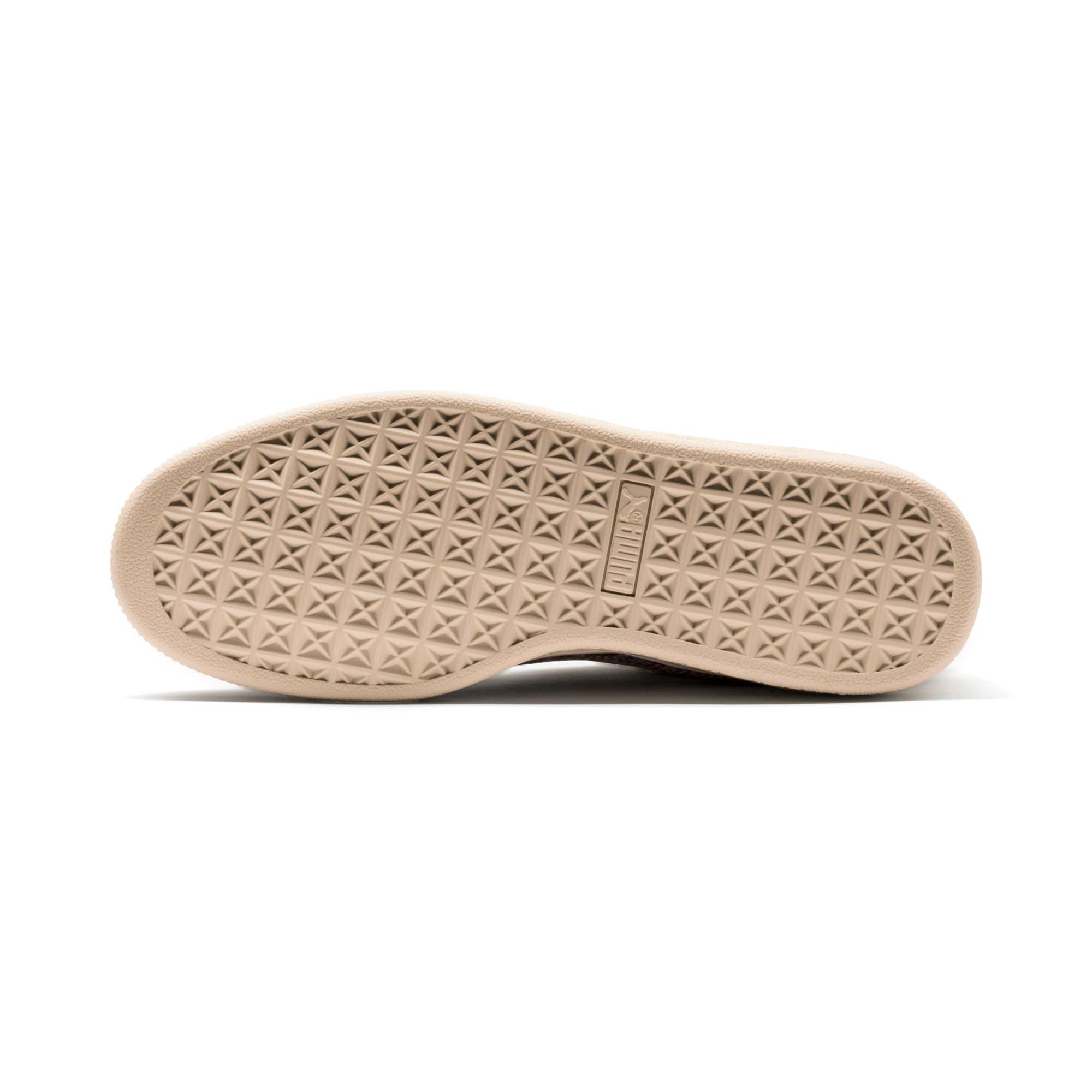 Thumbnail 3 of Basket Classic Mimicry Women's Sneakers, Vanilla Cream-Vanilla Cream, medium