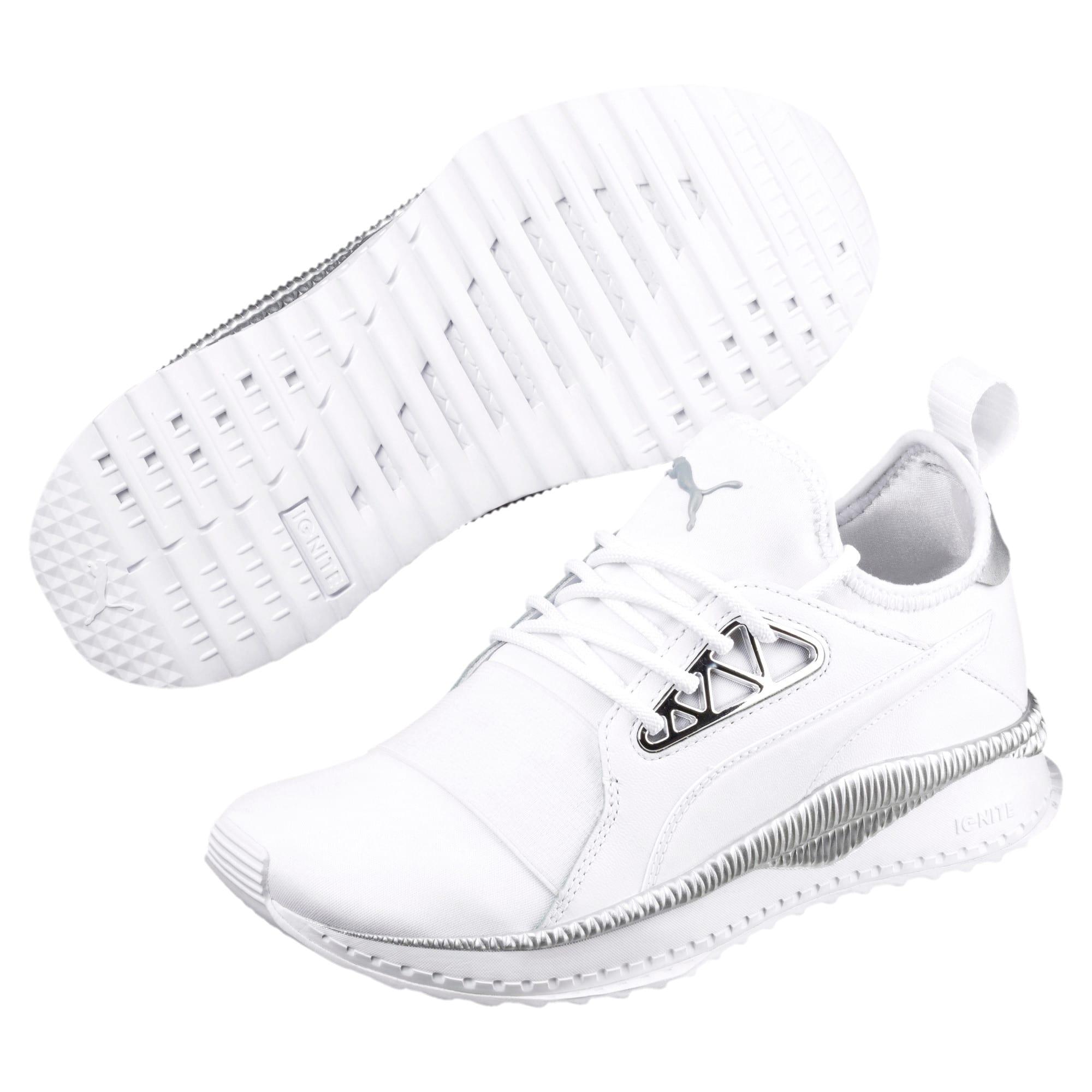 Thumbnail 2 of TSUGI Apex Jewel Women's Sneakers, Puma White-Puma White, medium