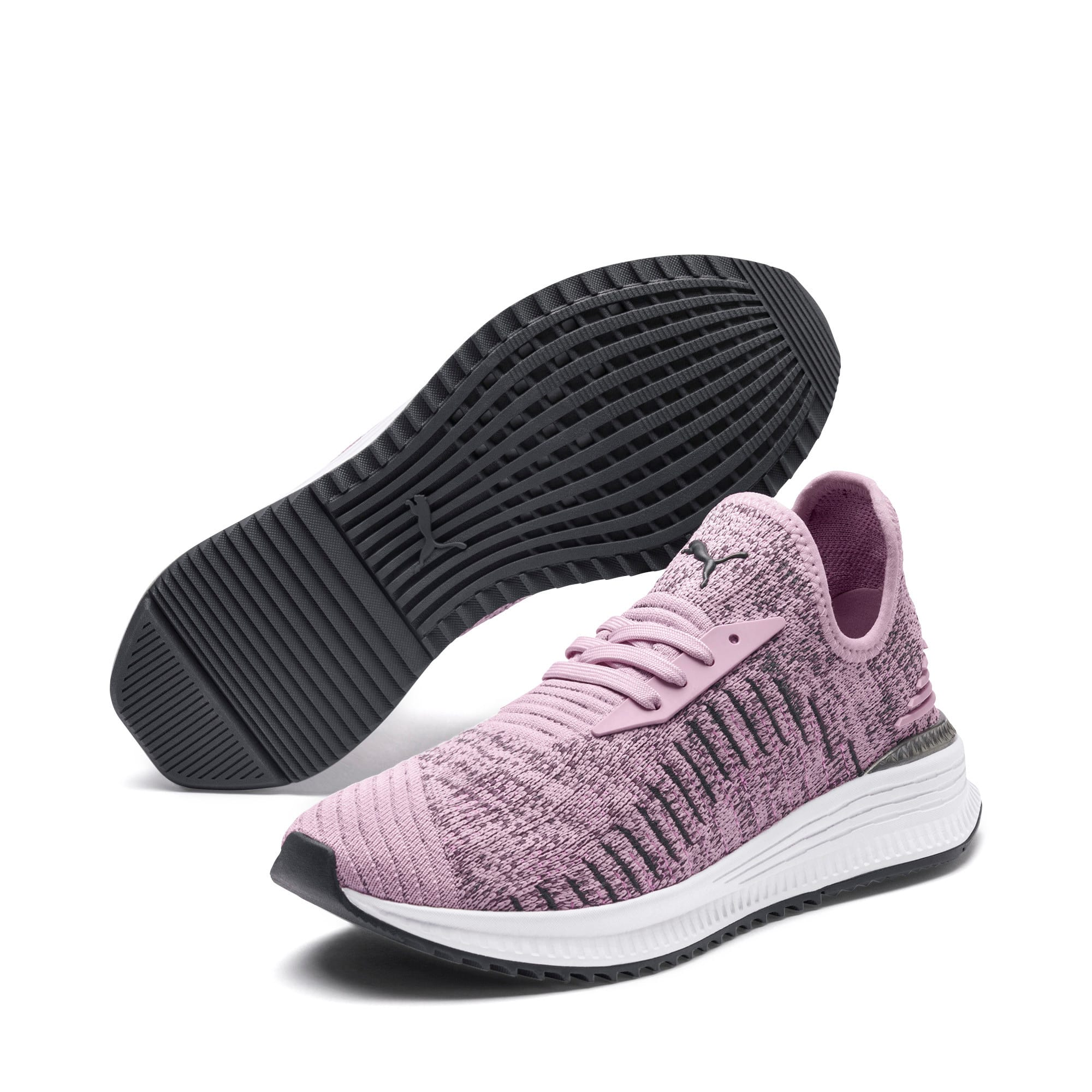 Thumbnail 2 of AVID evoKNIT Mosaic Women's Sneakers, WOrchid-IGate-Orchid, medium
