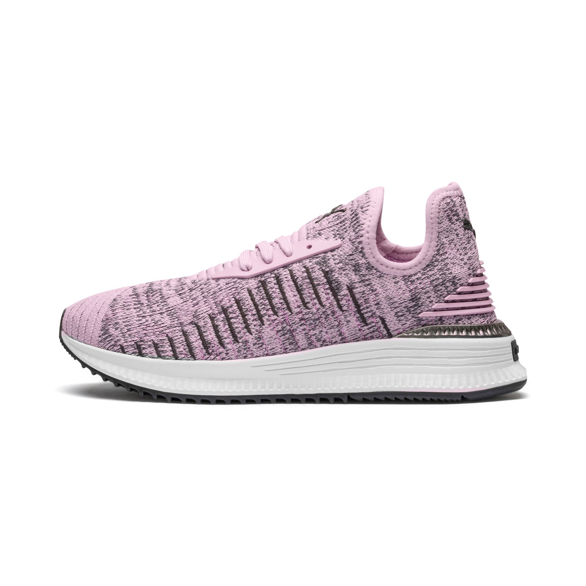 Thumbnail 1 of AVID evoKNIT Mosaic Women's Sneakers, WOrchid-IGate-Orchid, medium