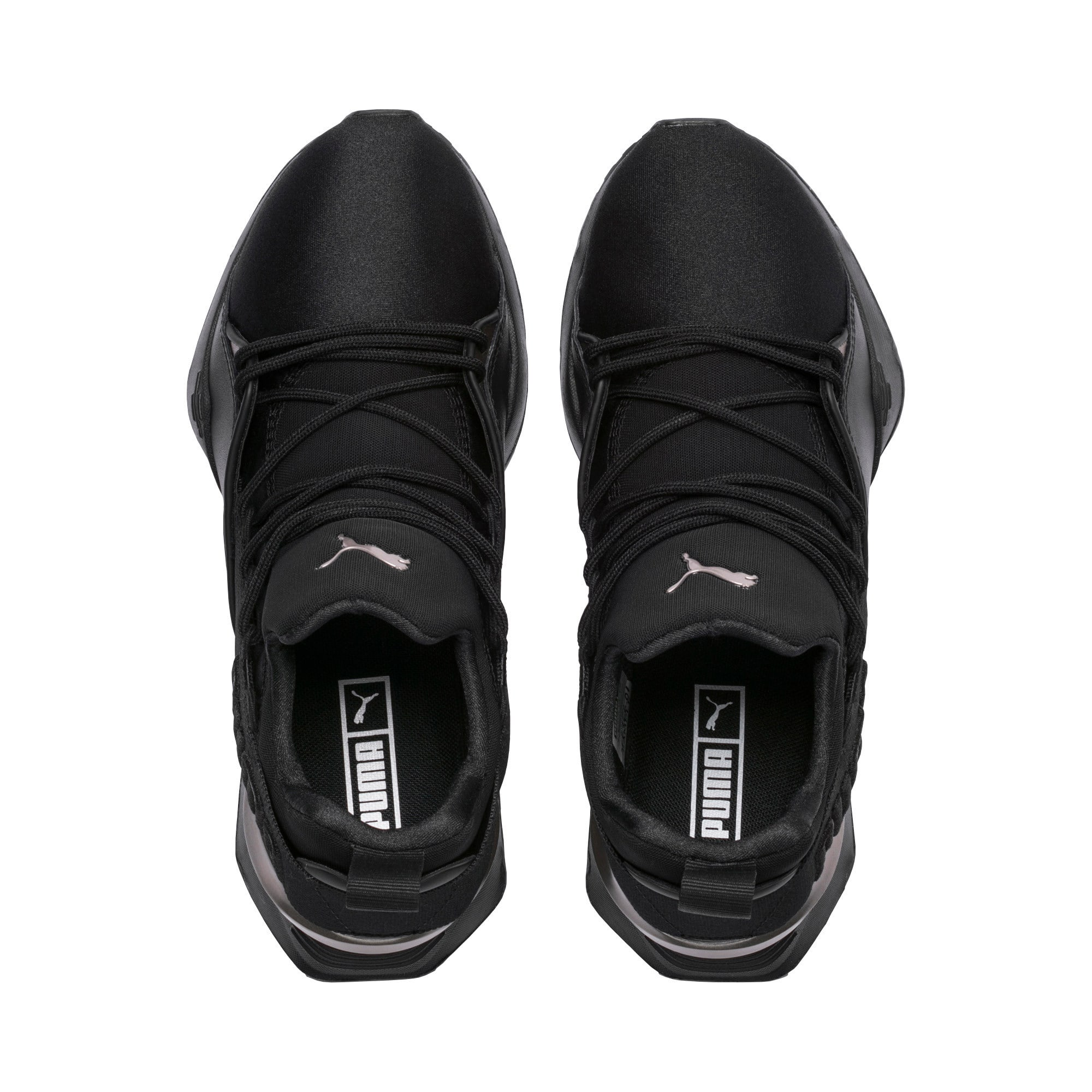 Thumbnail 6 of Muse Maia Luxe Women's Sneakers, Puma Black-Puma Black, medium