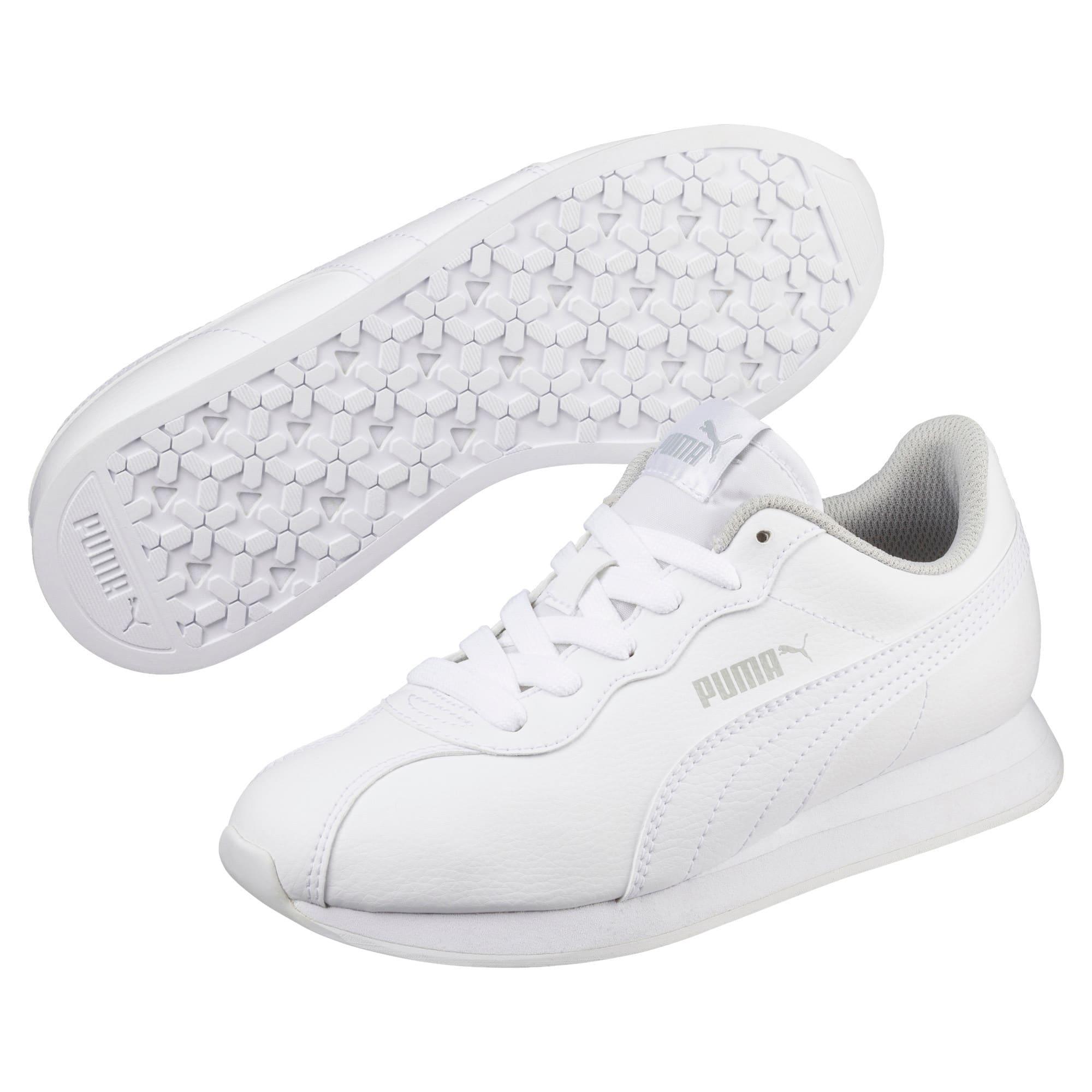 Thumbnail 2 of Turin II Sneakers JR, Puma White-Puma White, medium