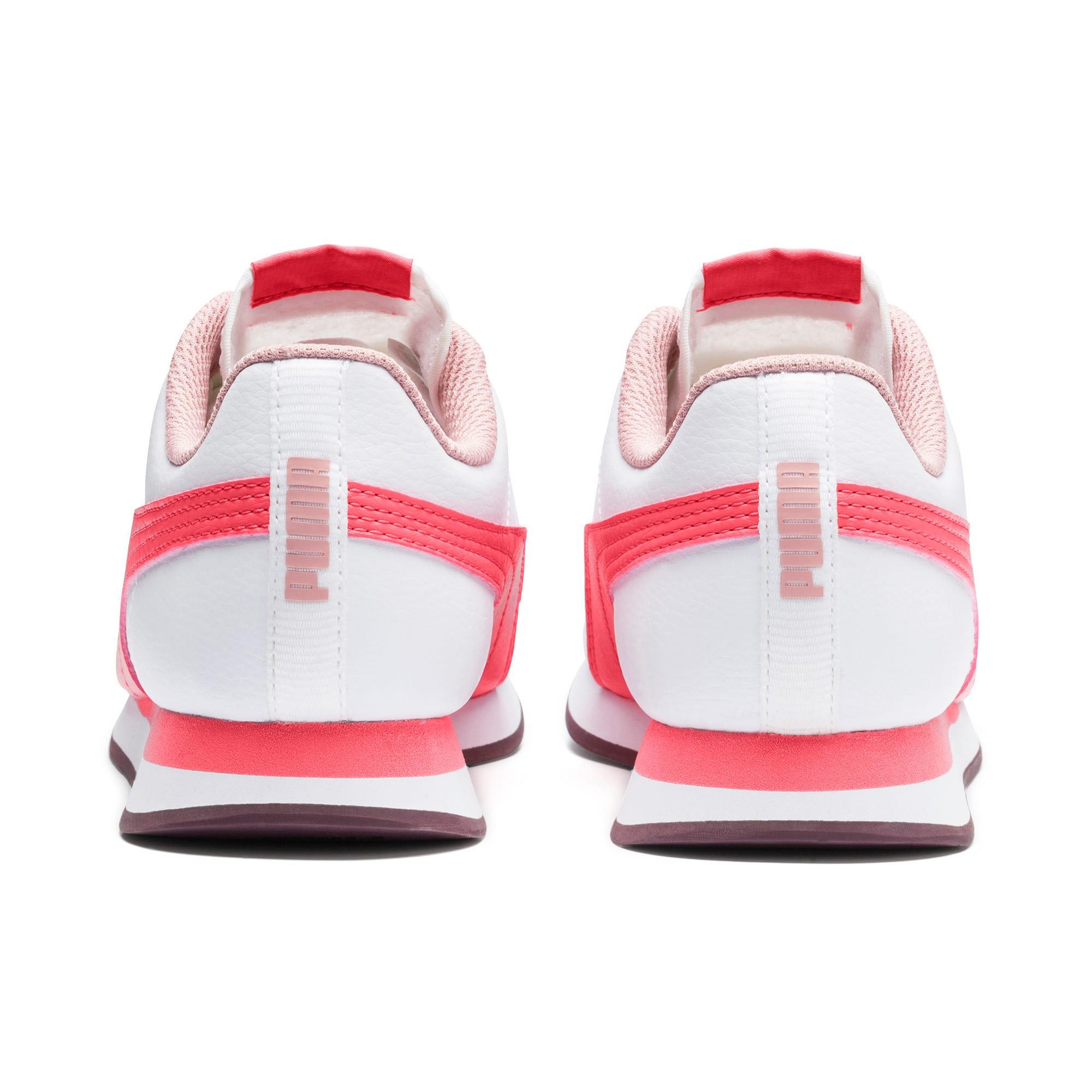 Miniatura 3 de Zapatos deportivos Turin II para JR, Puma White-Calypso Coral, mediano