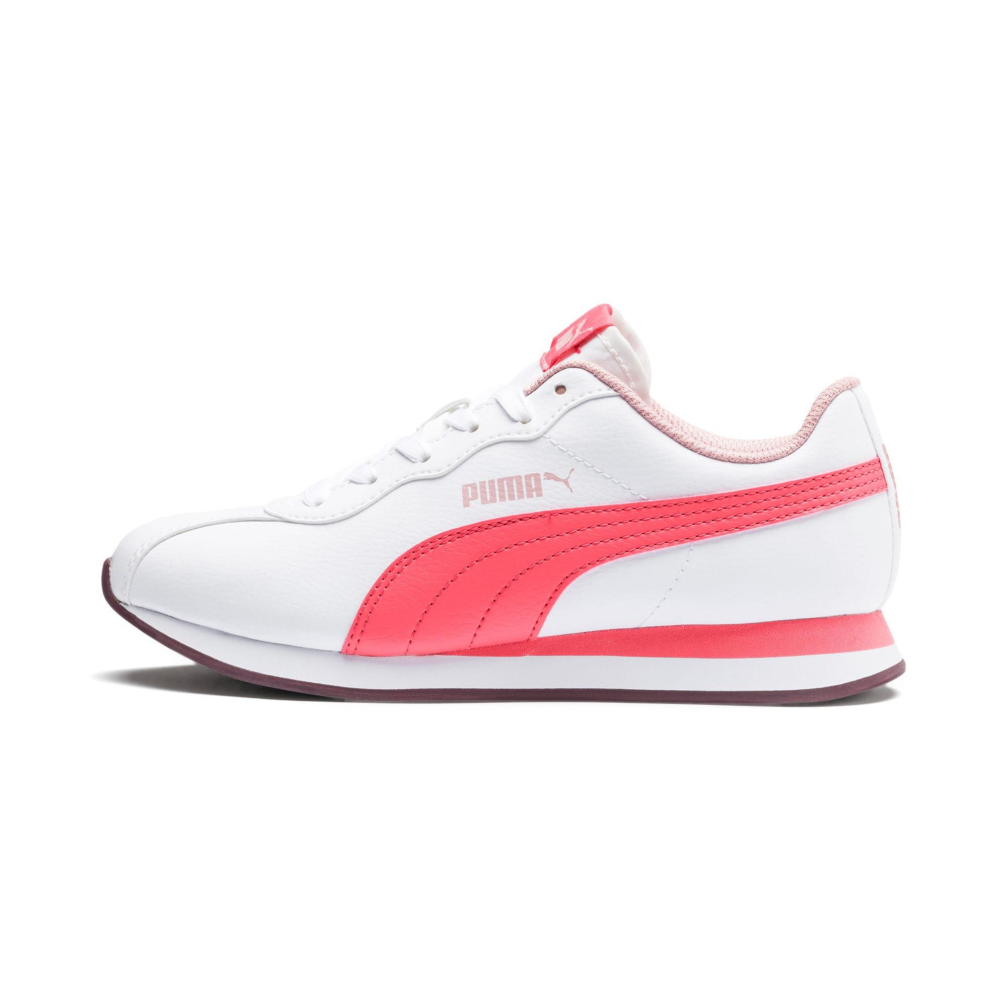 Miniatura 1 de Zapatos deportivos Turin II para JR, Puma White-Calypso Coral, mediano