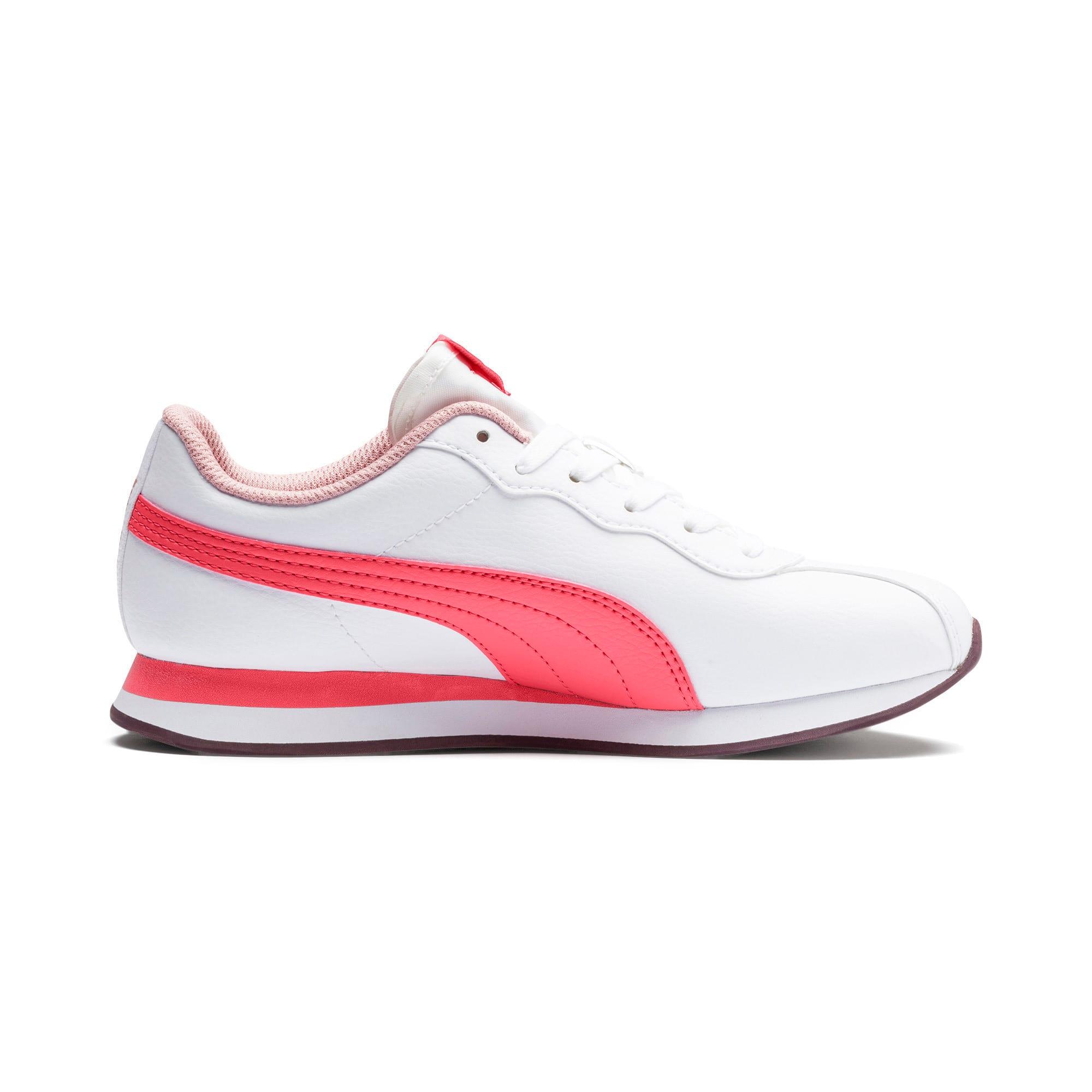 Miniatura 5 de Zapatos deportivos Turin II para JR, Puma White-Calypso Coral, mediano