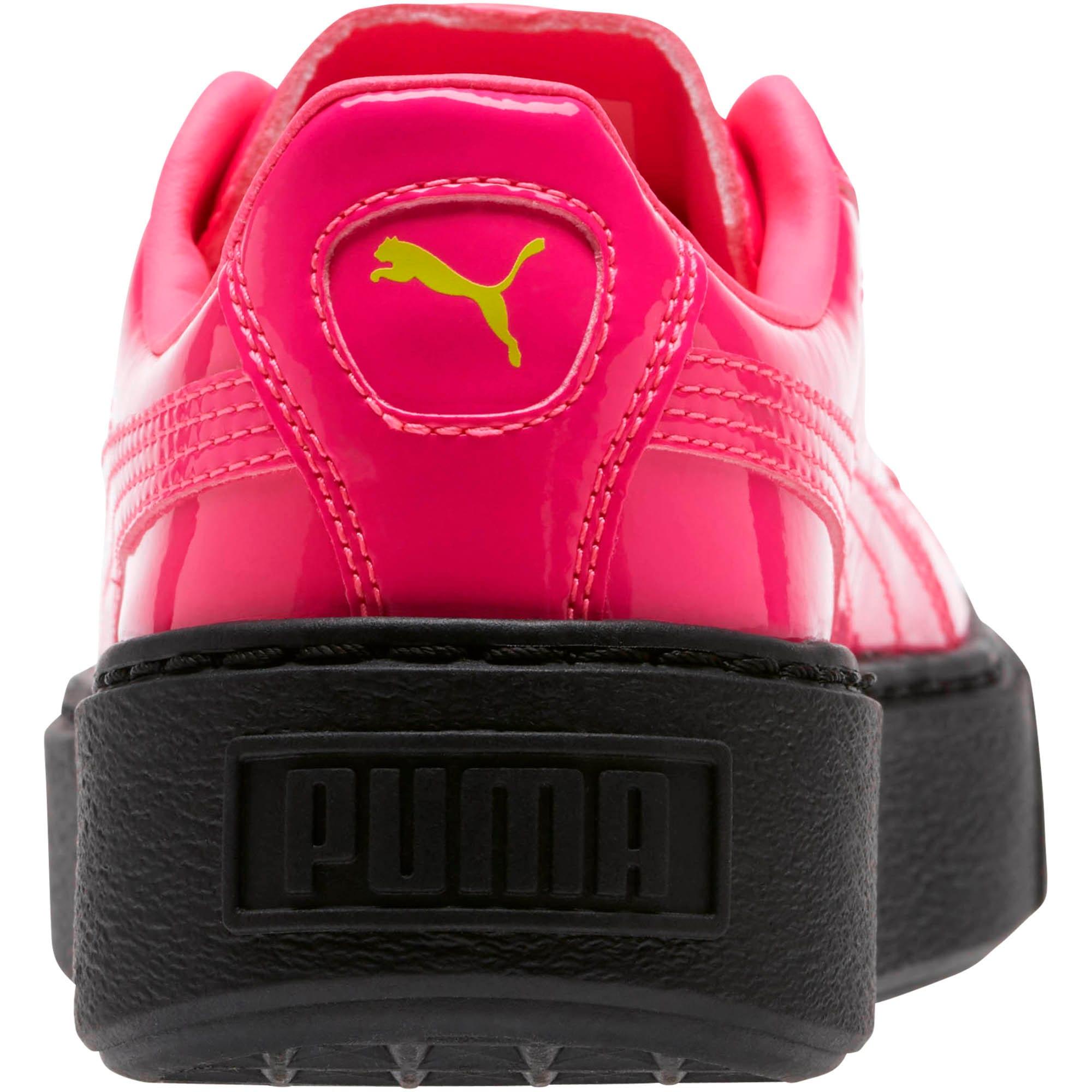 Thumbnail 4 of Basket Platform Block JR  Sneakers, PINK-Sulphur Spr-Black, medium