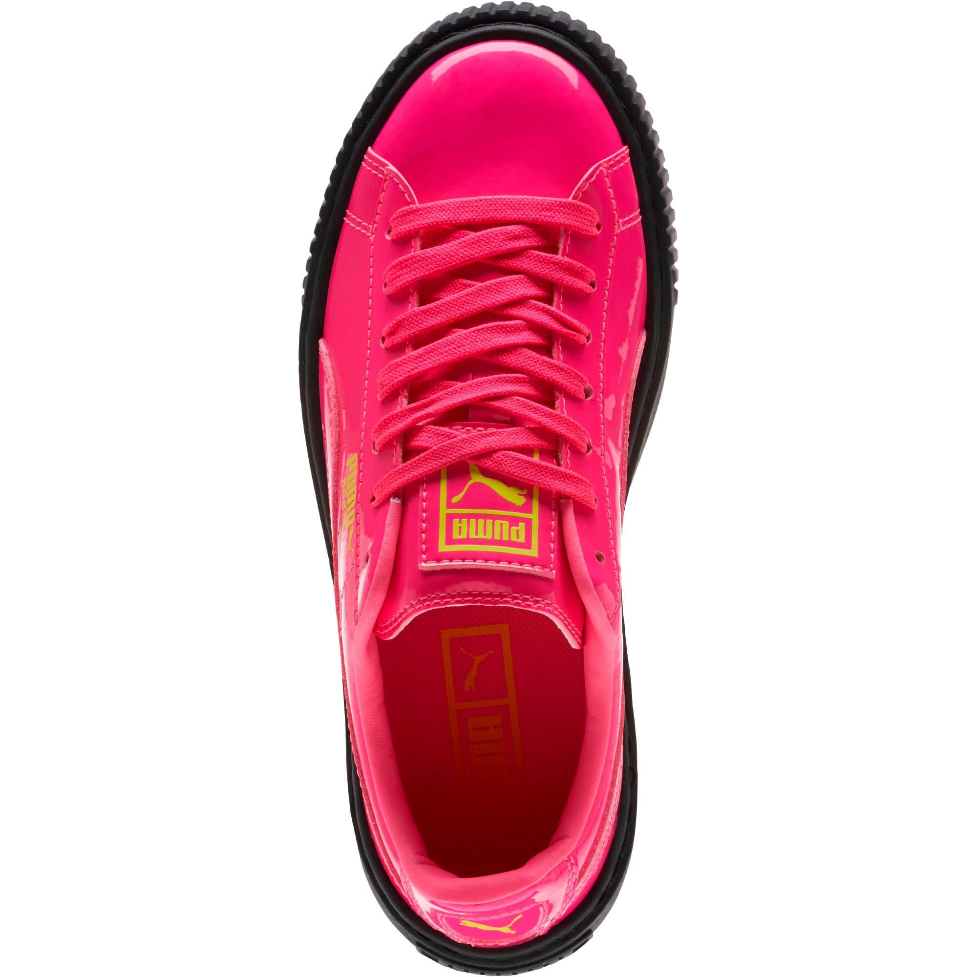Thumbnail 5 of Basket Platform Block JR  Sneakers, PINK-Sulphur Spr-Black, medium