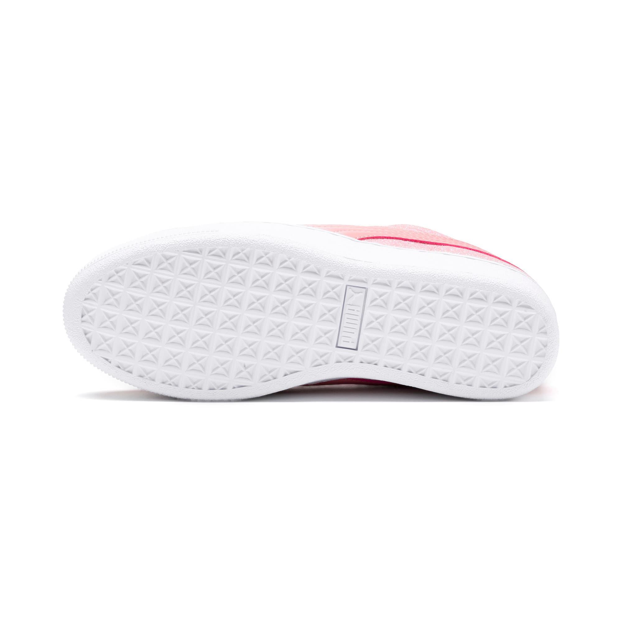 Thumbnail 4 of PUMA Vikky Platform Glitz Sneakers JR, Bridal Rose-Bridal Rose, medium