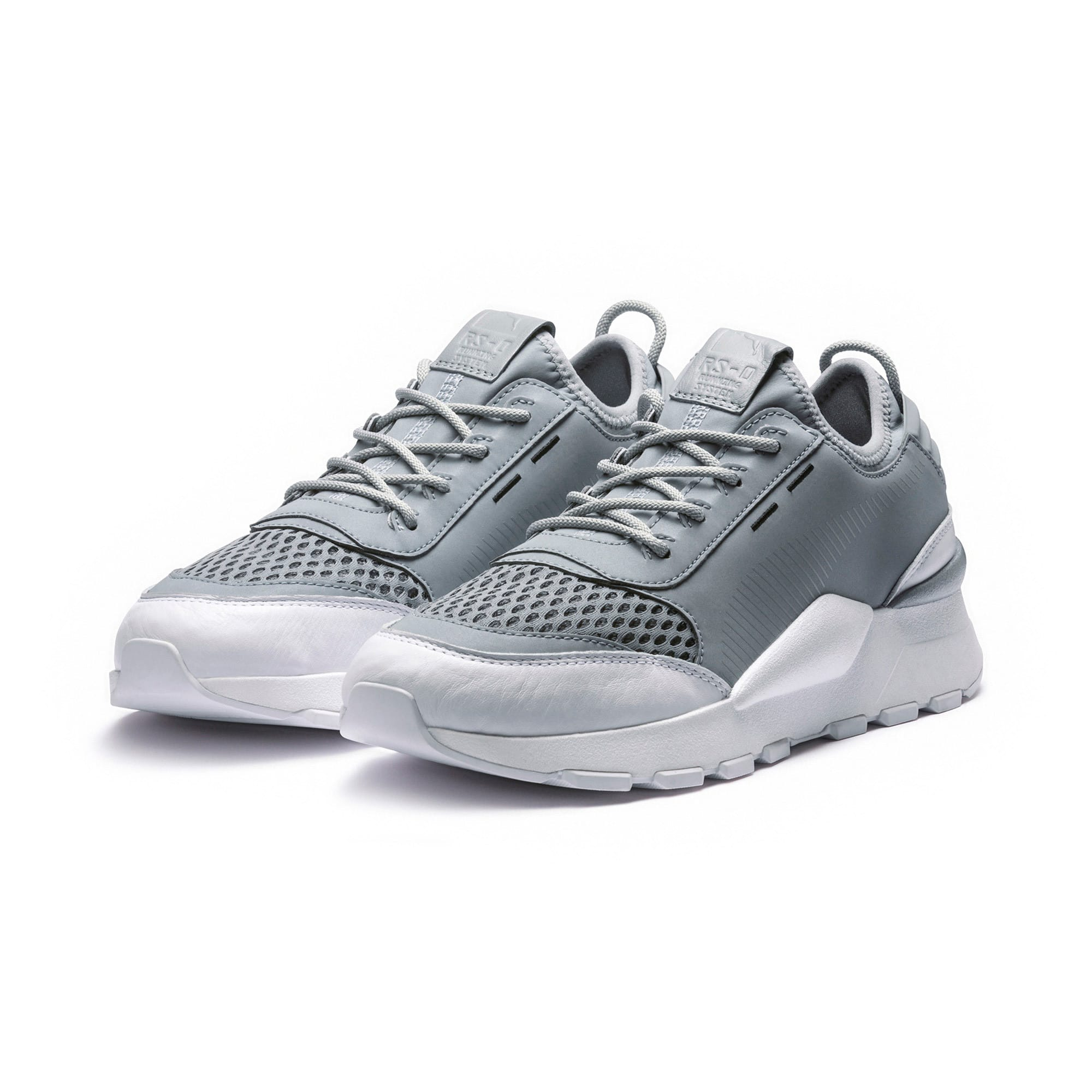 RS-0 Optic Trainers, PumaSilver-Quarry-PumaWhite, large