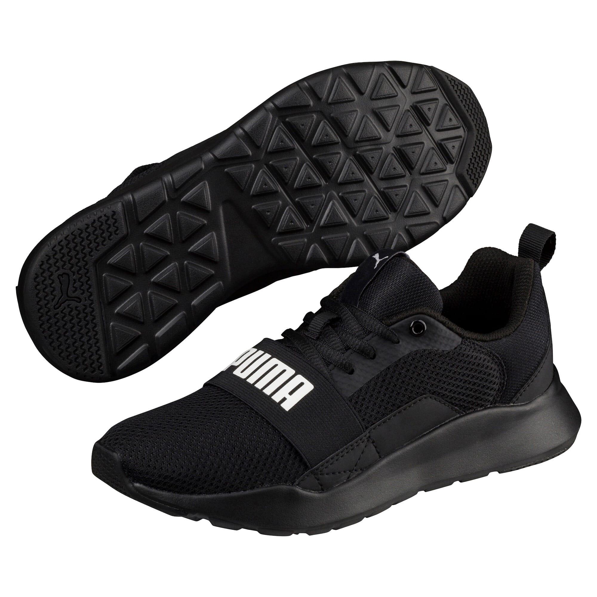 Miniatura 2 de Zapatos deportivos PUMA Wired JR, Puma Black-Puma Black- Negro, mediano