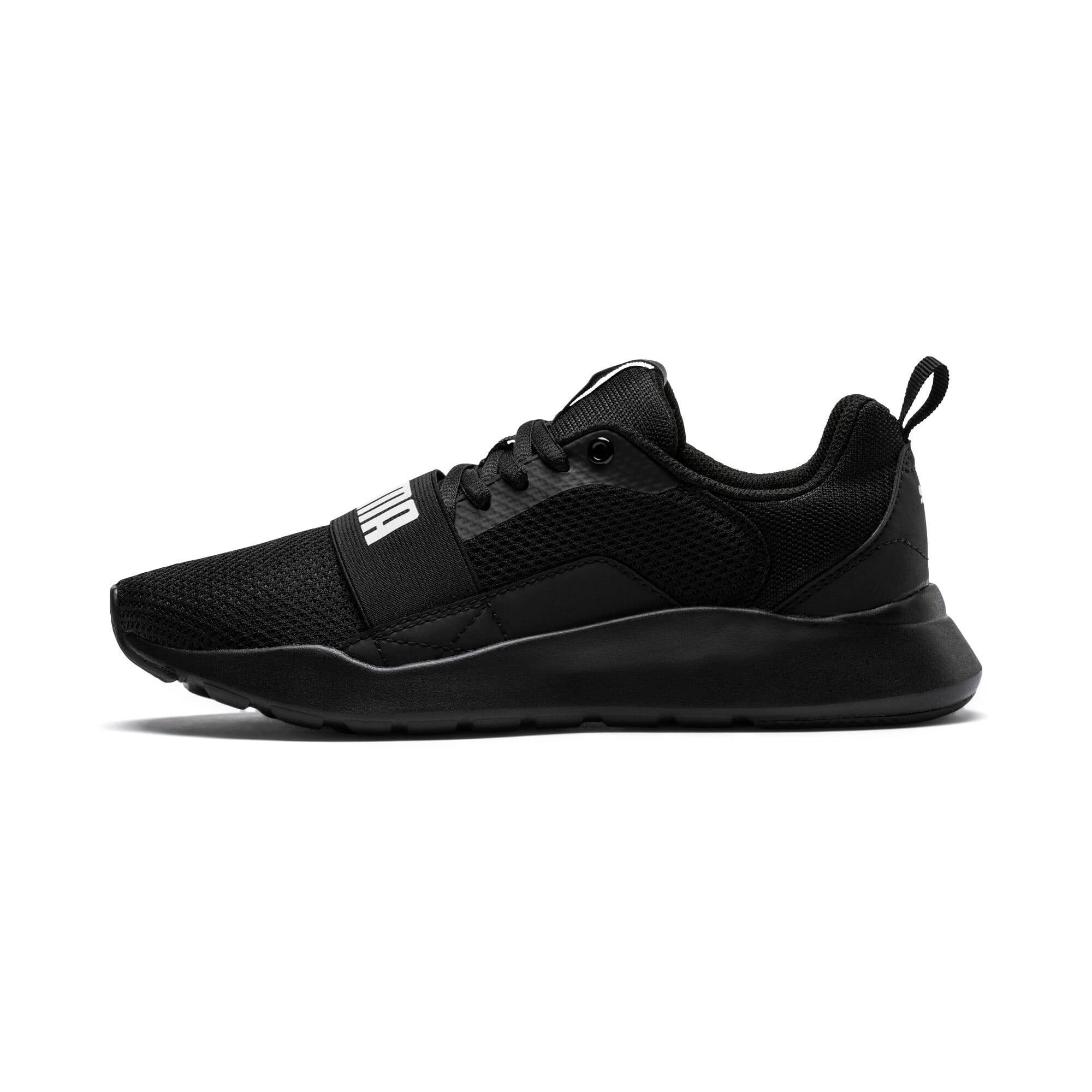 Miniatura 1 de Zapatos deportivos PUMA Wired JR, Puma Black-Puma Black- Negro, mediano