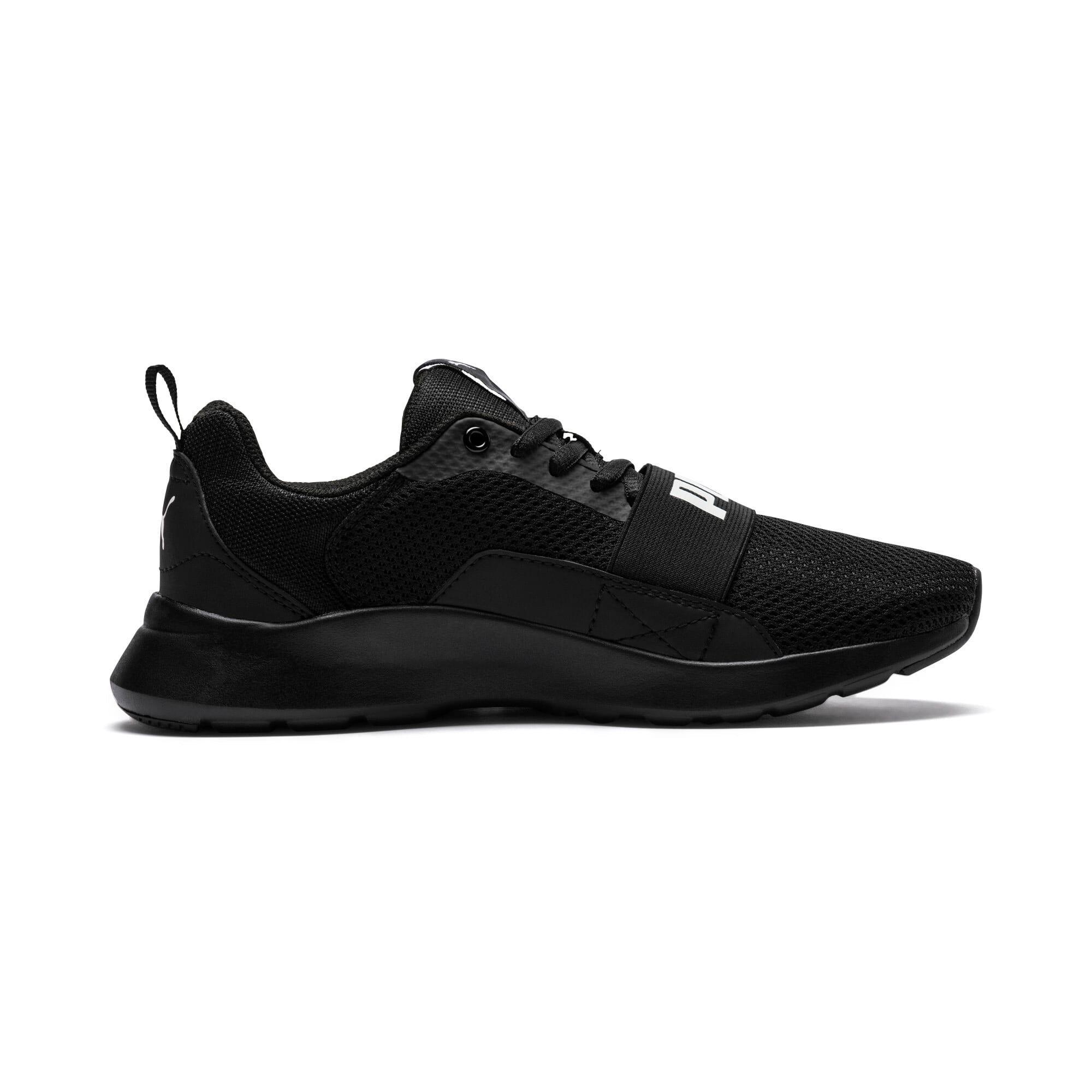 Miniatura 5 de Zapatos deportivos PUMA Wired JR, Puma Black-Puma Black- Negro, mediano