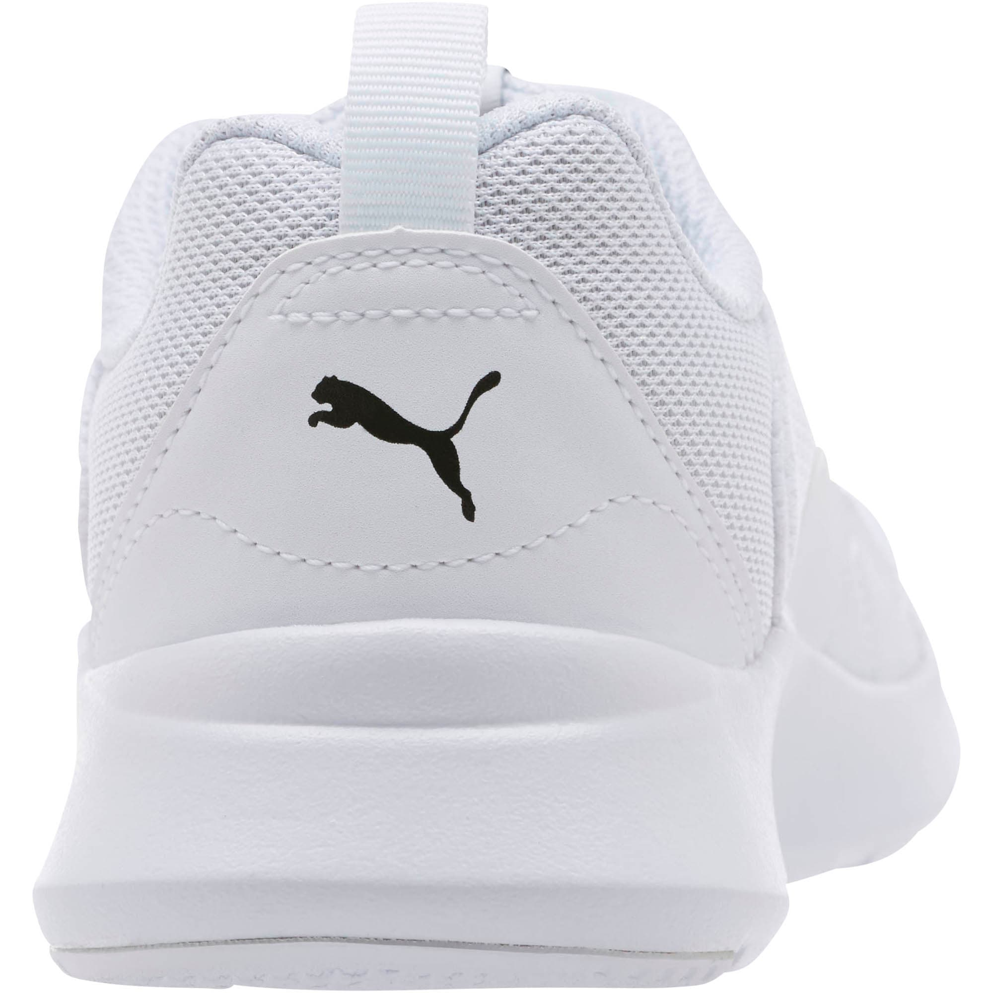 Thumbnail 4 of PUMA Wired Sneakers JR, Puma White-Puma White-White, medium