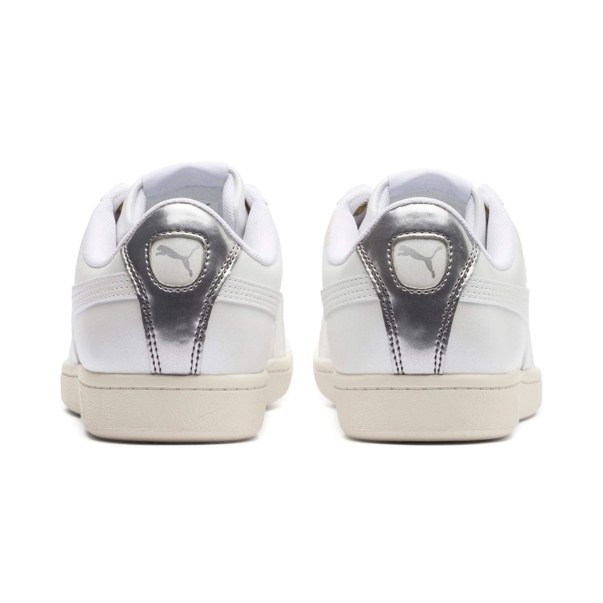 Thumbnail 4 of Puma Vikky LX Sneakers, Puma White-White-Whisper, medium
