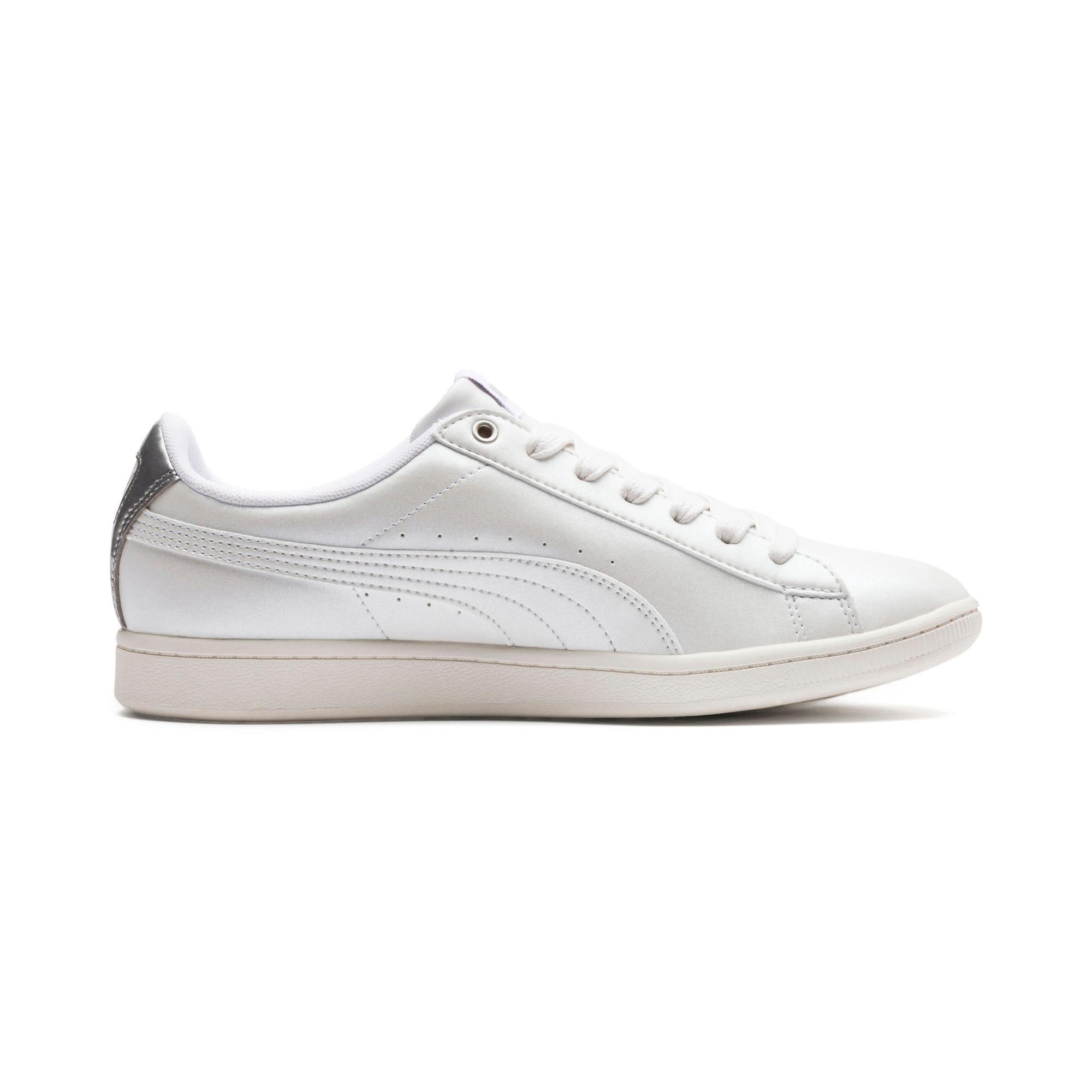 Thumbnail 5 of Puma Vikky LX Sneakers, Puma White-White-Whisper, medium