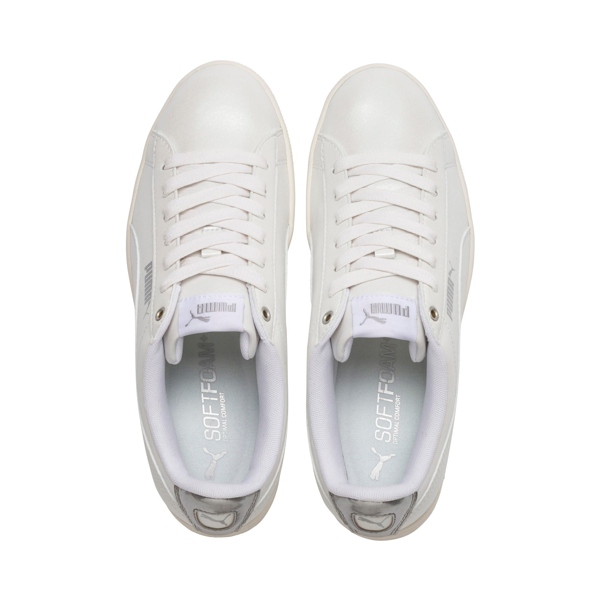 Thumbnail 6 of Puma Vikky LX Sneakers, Puma White-White-Whisper, medium