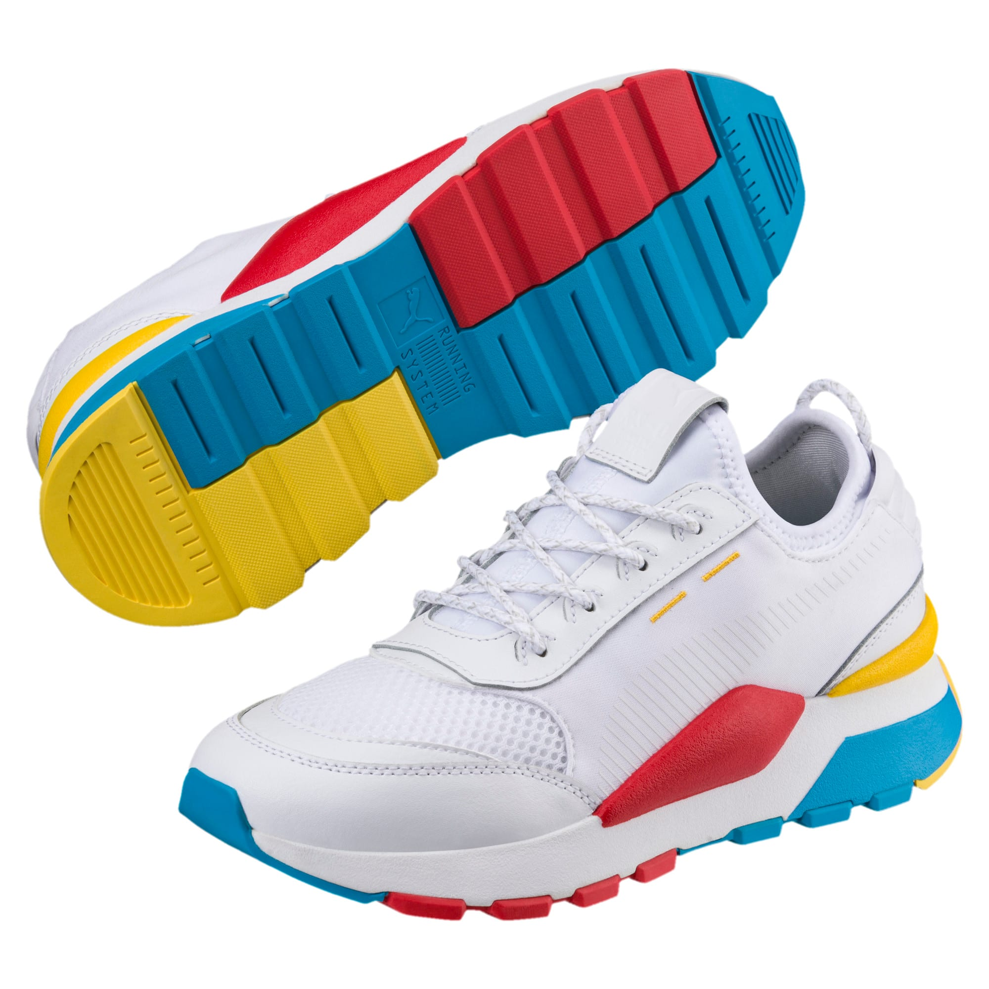 Thumbnail 2 of RS-0 Play Sneakers JR, White-Puma White-White, medium