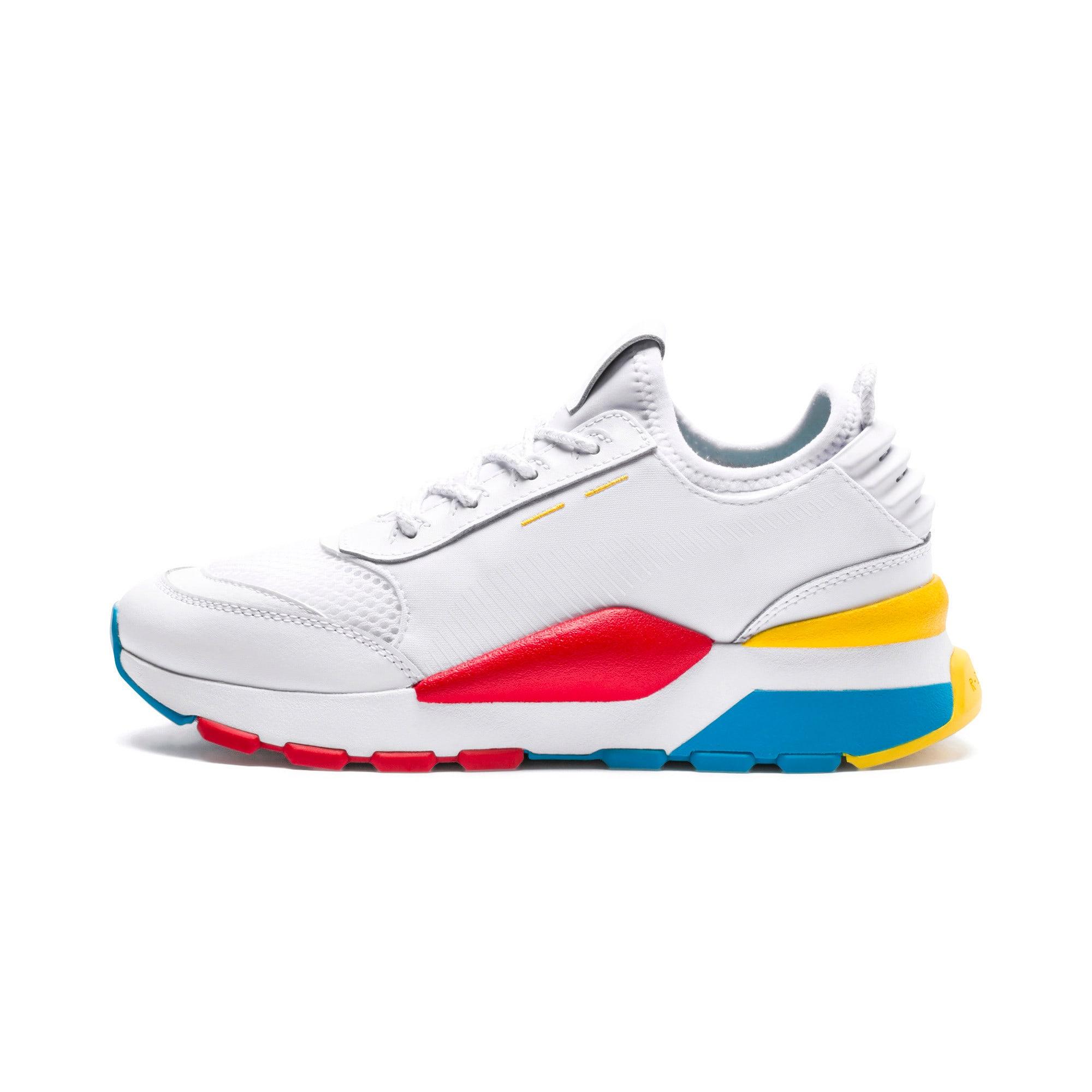 Thumbnail 1 of RS-0 Play Sneakers JR, White-Puma White-White, medium
