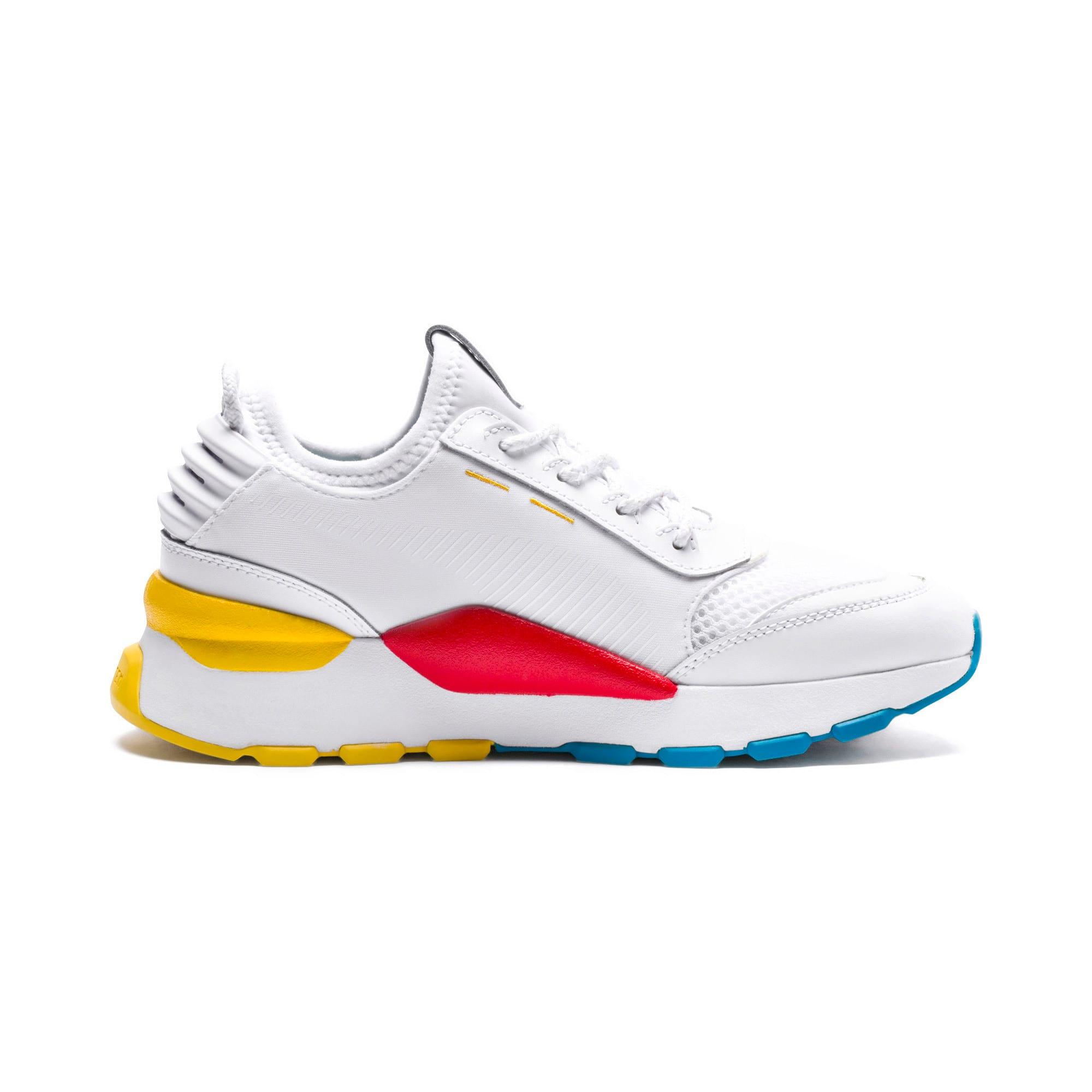 Thumbnail 5 of RS-0 Play Sneakers JR, White-Puma White-White, medium