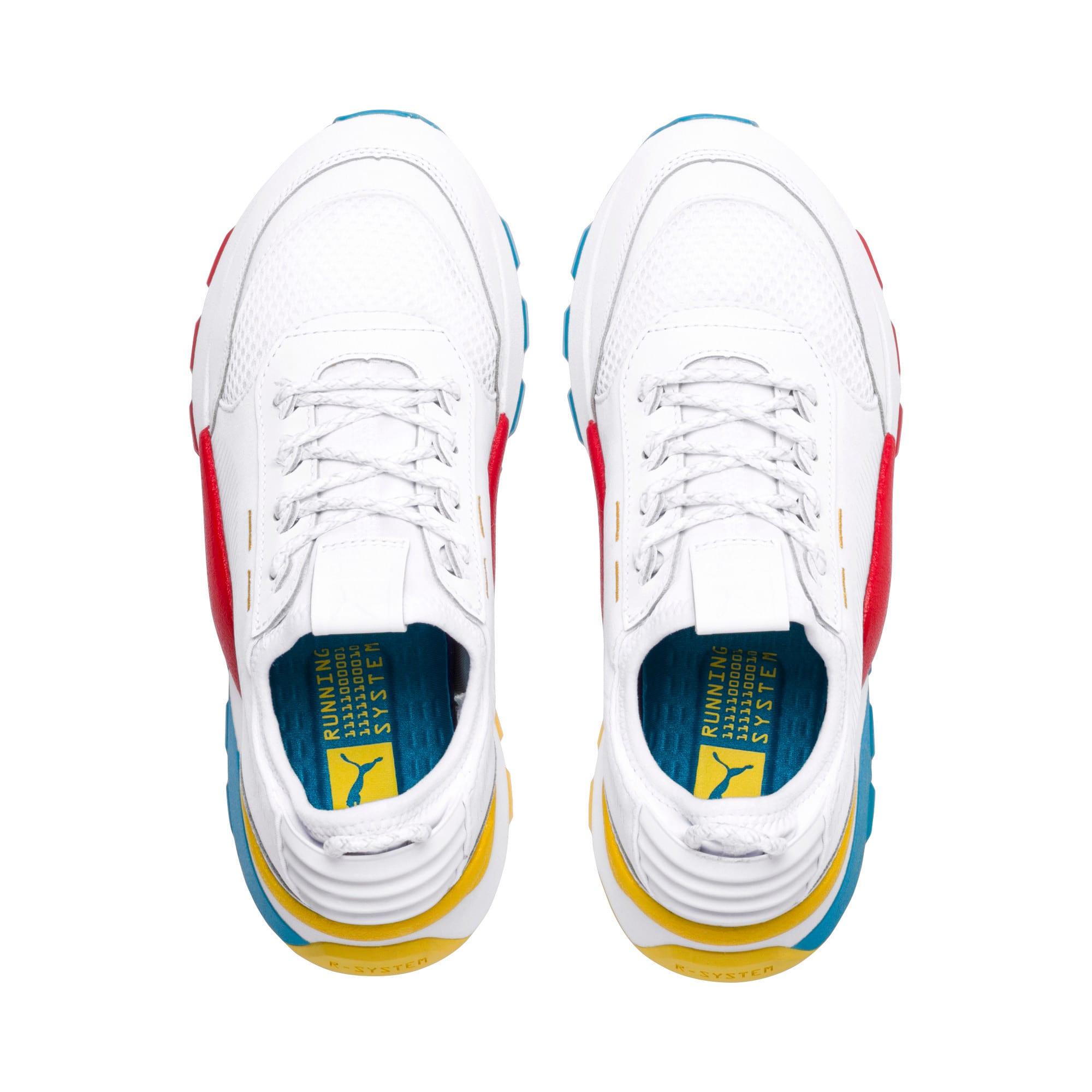 Thumbnail 6 of RS-0 Play Sneakers JR, White-Puma White-White, medium