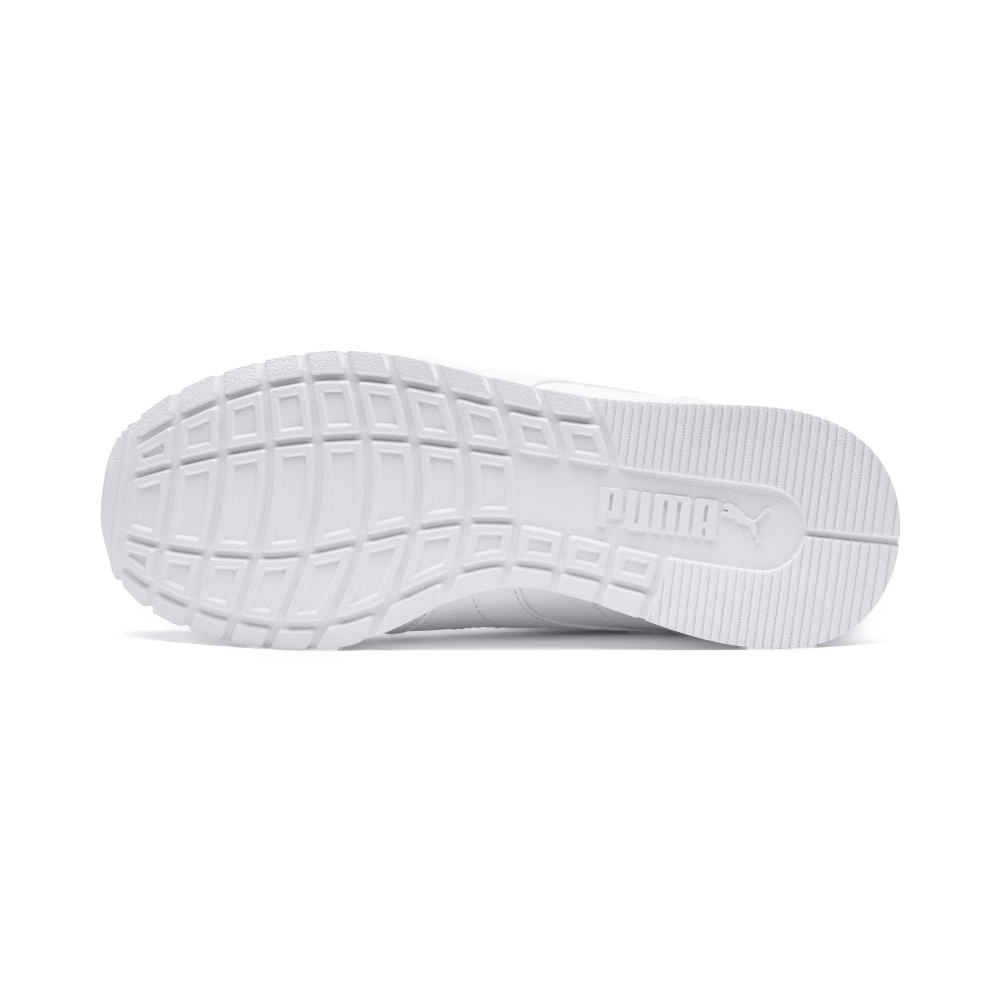 Thumbnail 3 of ST Runner v2 Leather Sneakers JR, Puma White-Gray Violet, medium