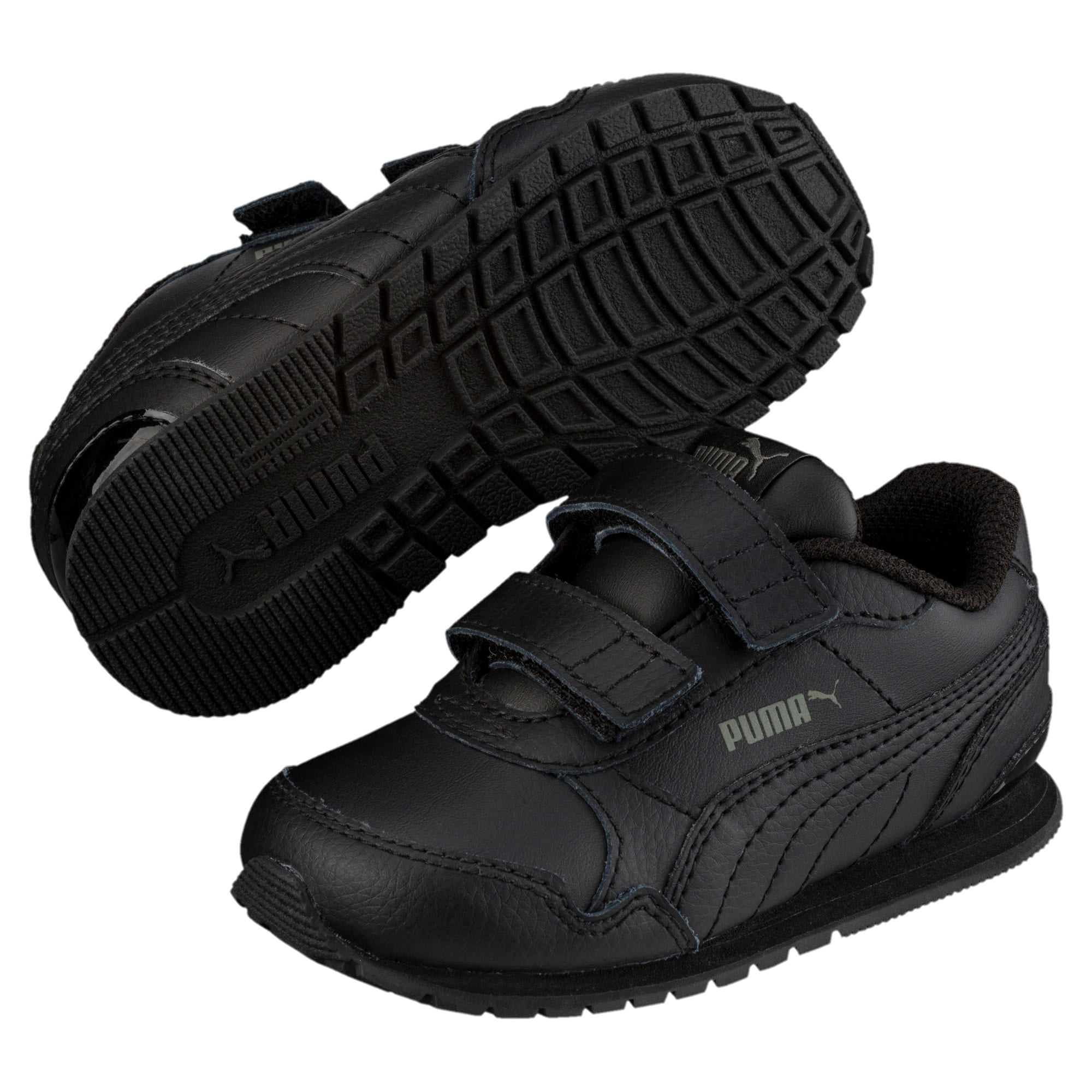 Thumbnail 2 of ST Runner v2 AC Shoes INF, Puma Black-Dark Shadow, medium