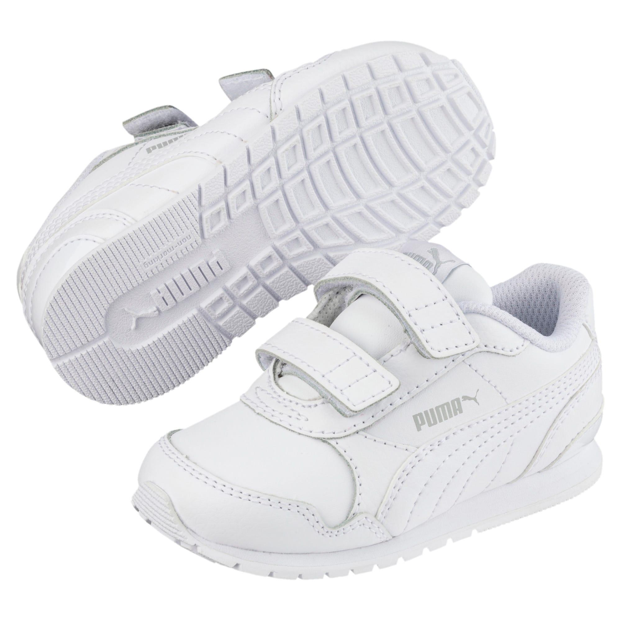Thumbnail 2 of ST Runner v2 AC Shoes INF, Puma White-Gray Violet, medium