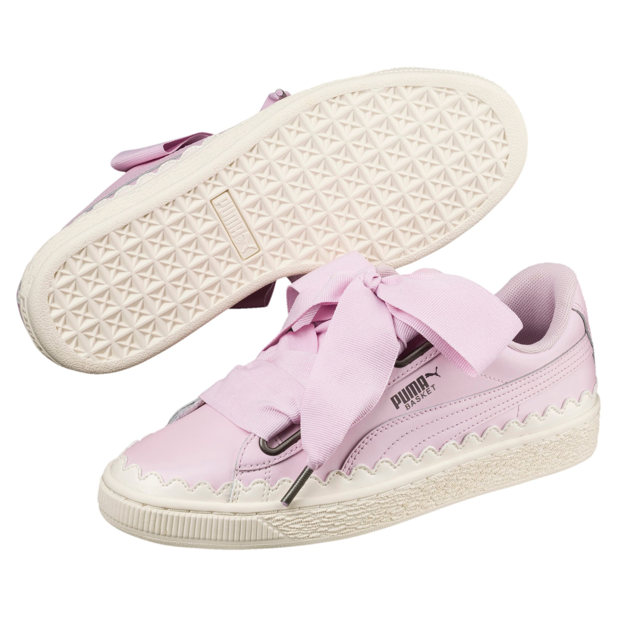 Basket Heart Scallop Women's Trainers