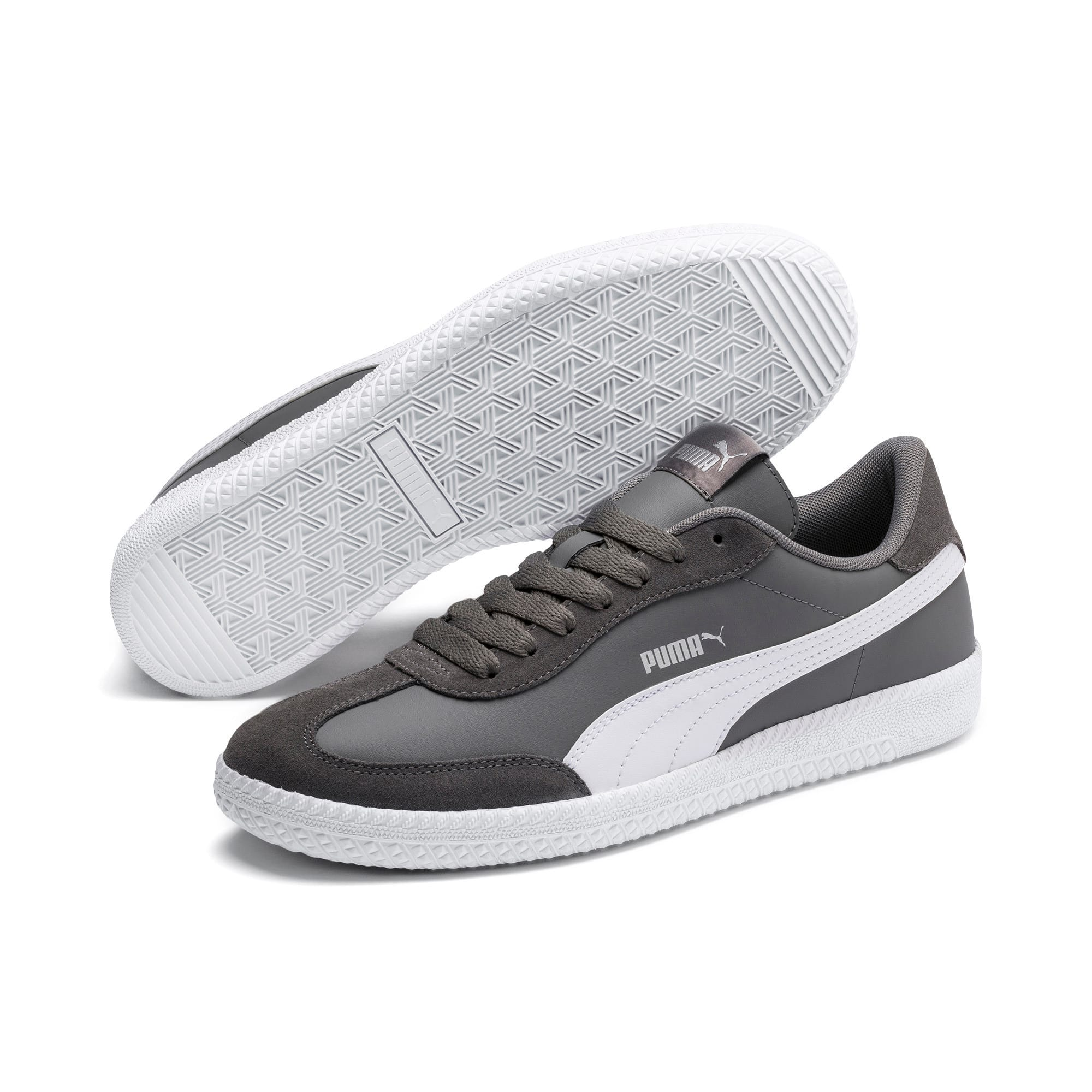 Thumbnail 2 of Astro Cup Sneakers, Steel Gray-Puma White, medium
