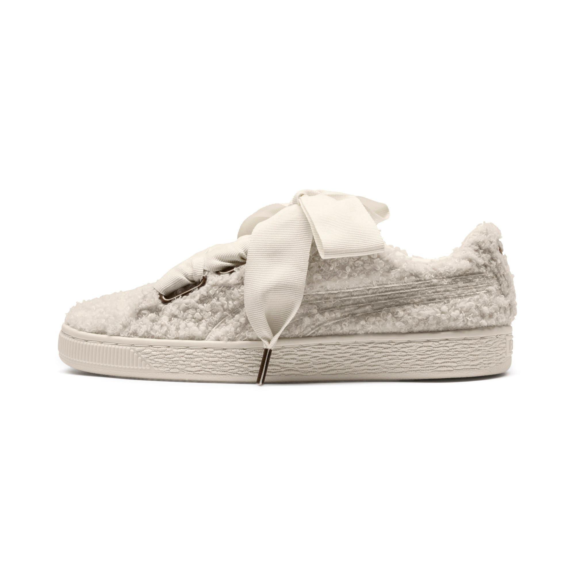 online store 8cd54 273f7 Basket Heart Teddy Women's Sneakers