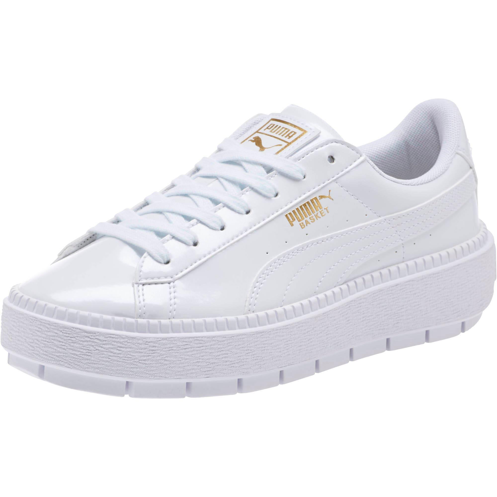 half off faada 9aa30 Basket Platform Trace P Women's Sneakers
