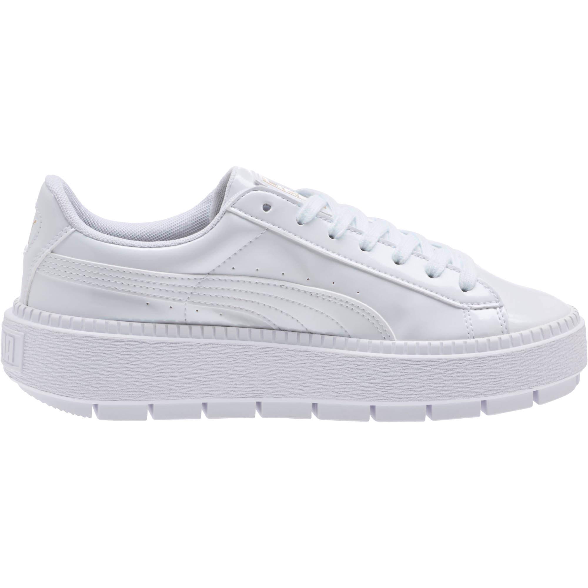 half off 178c1 961ae Basket Platform Trace P Women's Sneakers