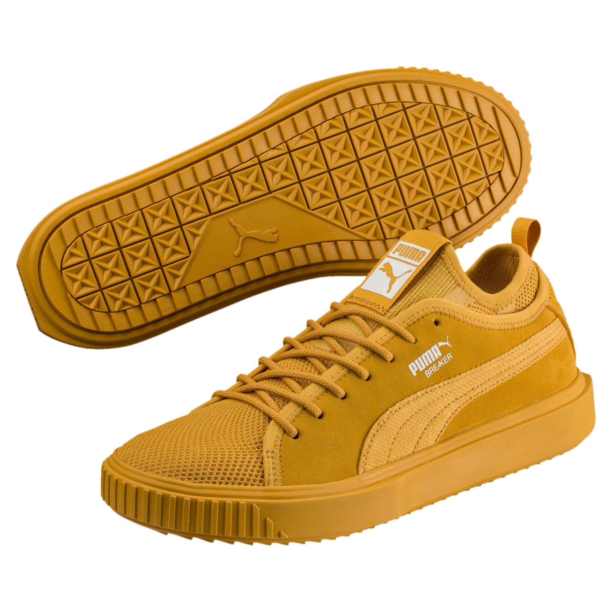 Thumbnail 2 of Breaker Mesh Men's Sneakers, Mineral Yellow-Minl Yellow, medium