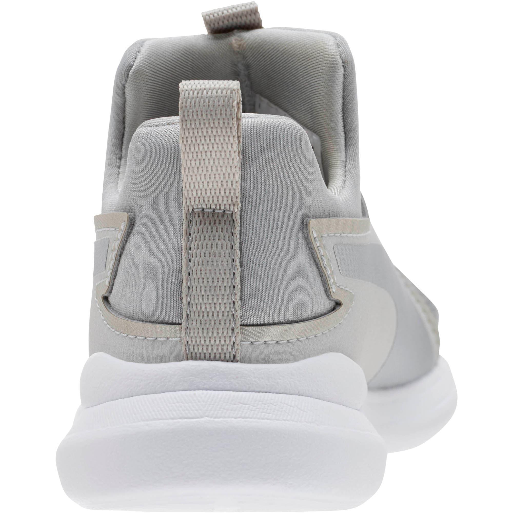 Thumbnail 4 of Puma Rebel Mid Glow Little Kids' Shoes, Gray Violet-Puma Silver, medium