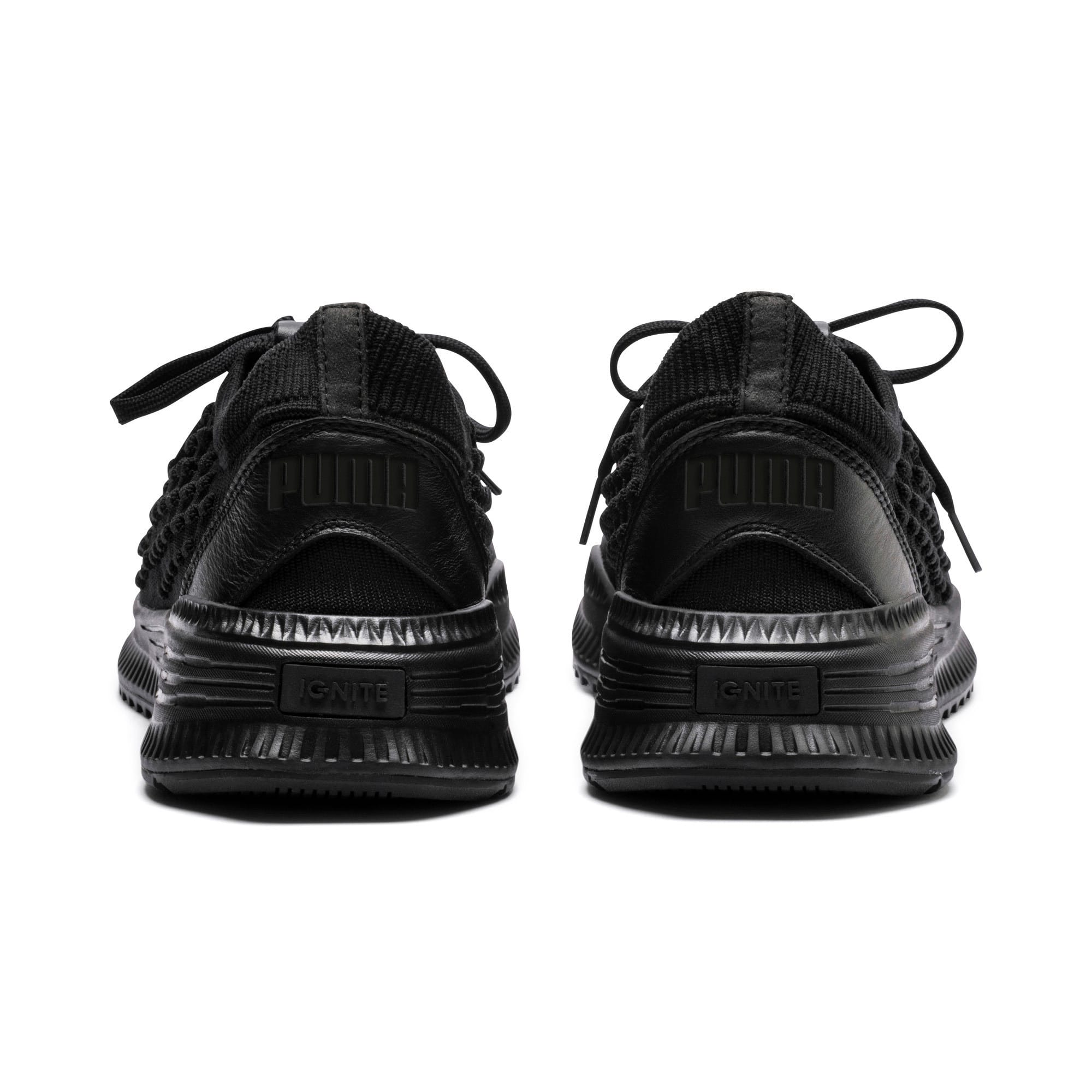Thumbnail 4 of Evolution AVID FUSEFIT Sneakers, Puma Black-Puma Black-Black, medium