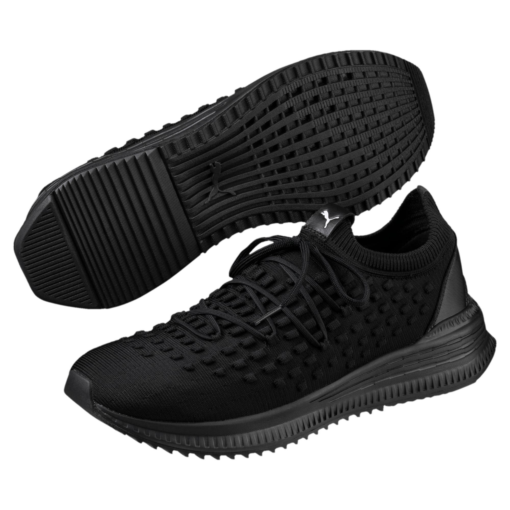 Thumbnail 2 of Evolution AVID FUSEFIT Sneakers, Puma Black-Puma Black-Black, medium