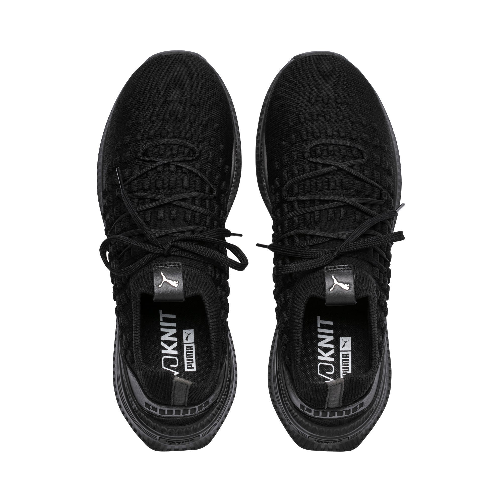Thumbnail 6 of Evolution AVID FUSEFIT Sneakers, Puma Black-Puma Black-Black, medium